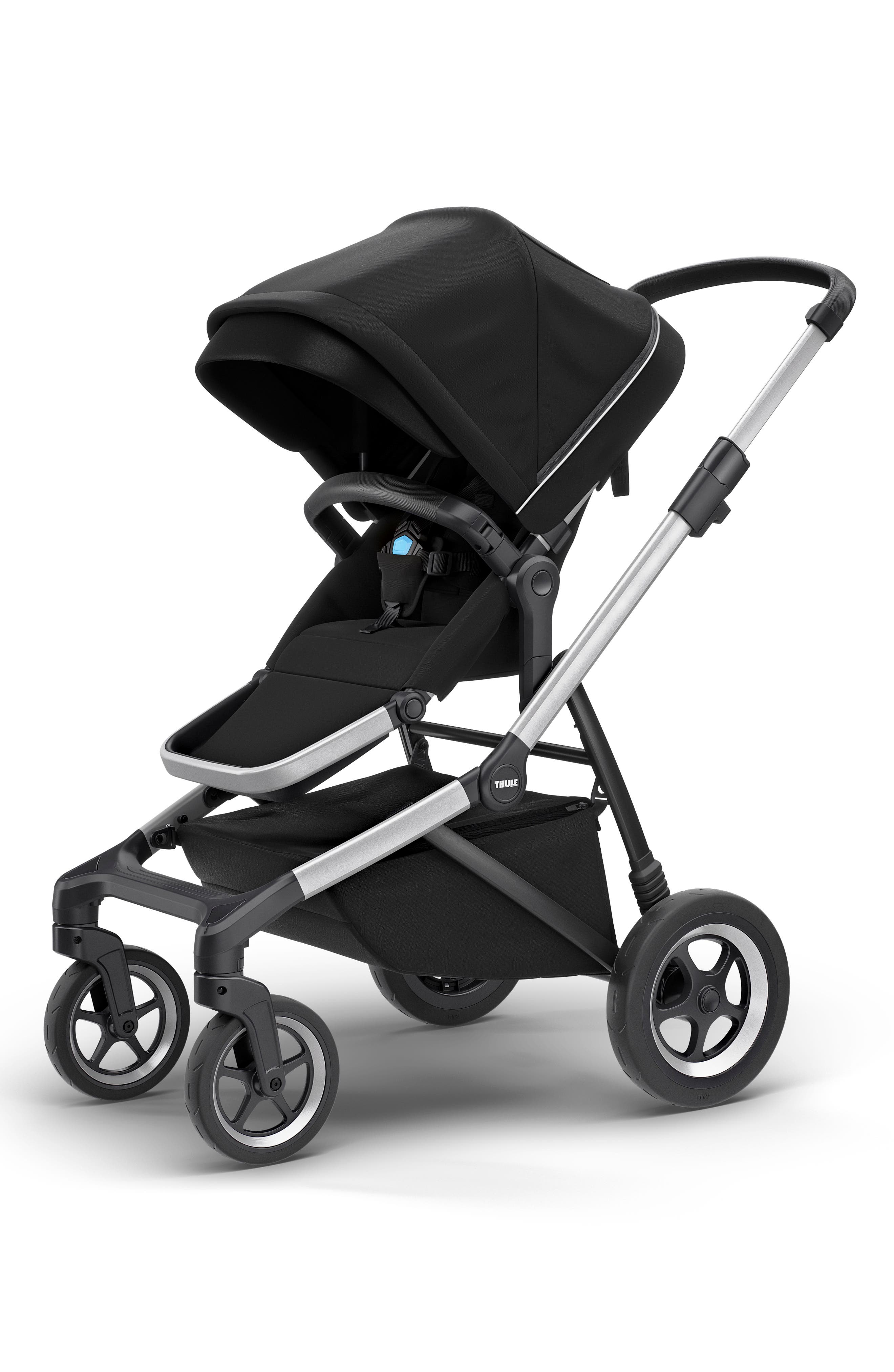 2018 Sleek City Stroller,                             Main thumbnail 1, color,                             BLACK