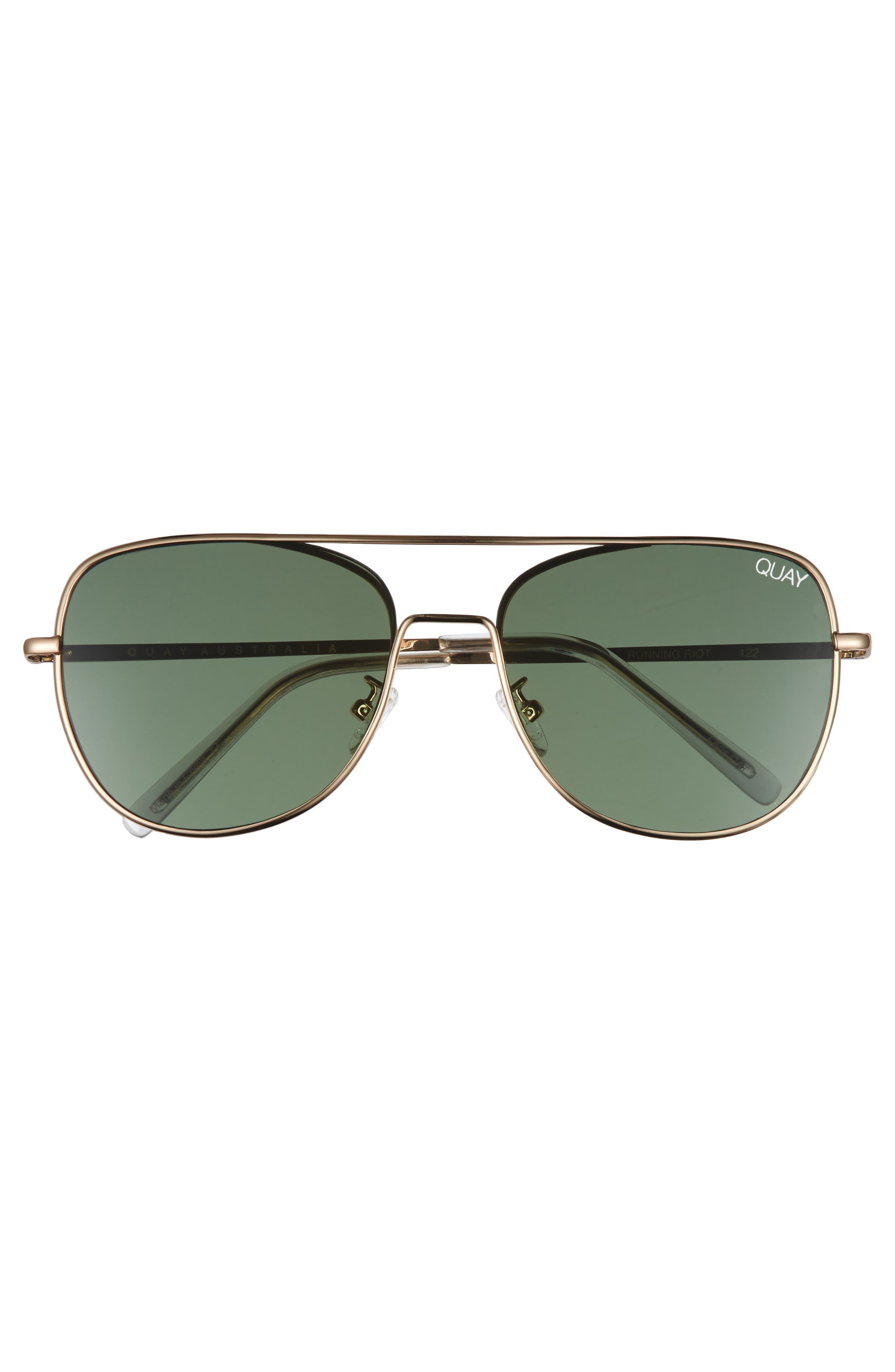 'Running Riot' 58mm Aviator Sunglasses,                             Alternate thumbnail 3, color,                             711