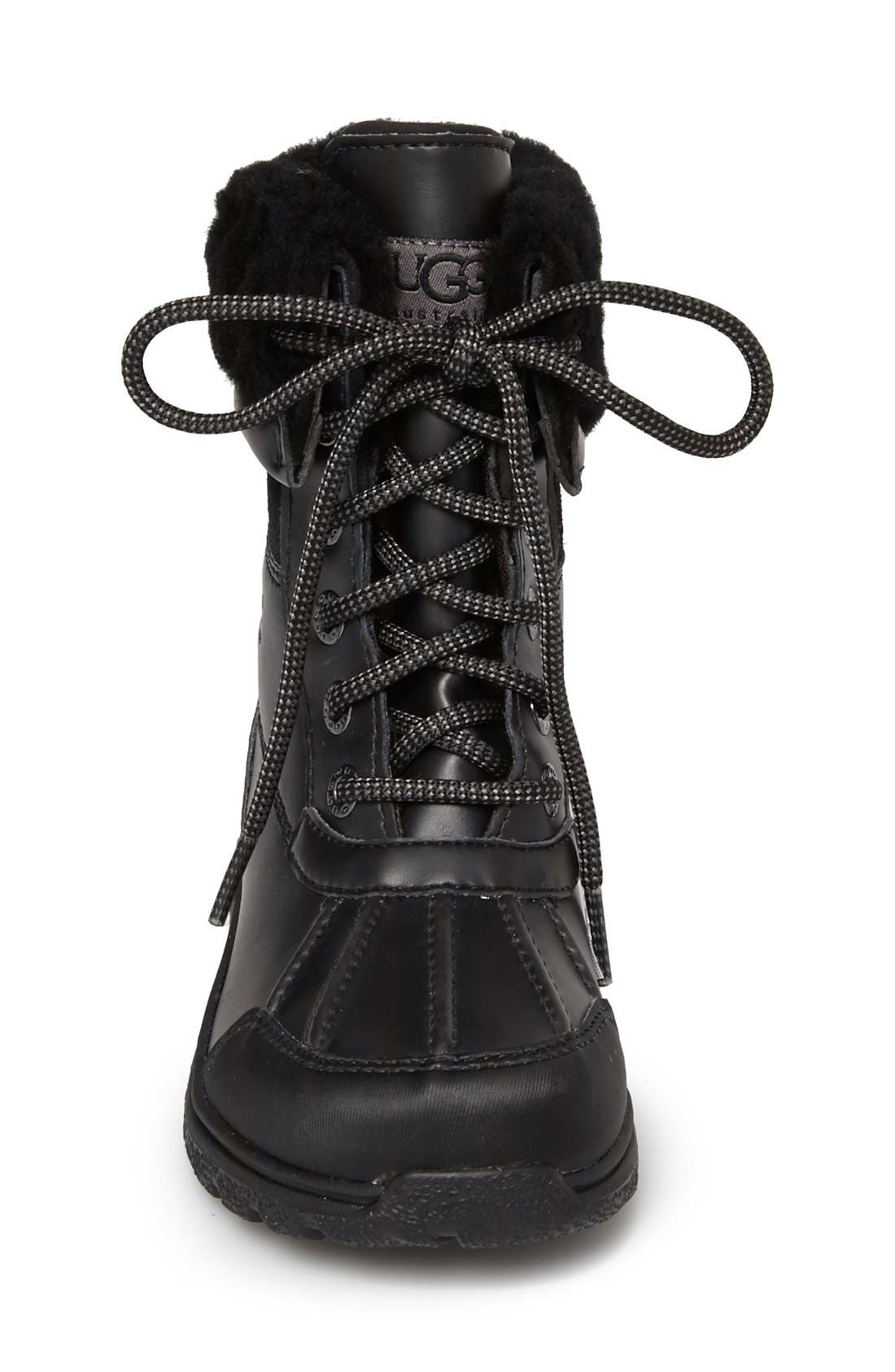 'Butte II' Waterproof Leather Boot,                             Alternate thumbnail 6, color,
