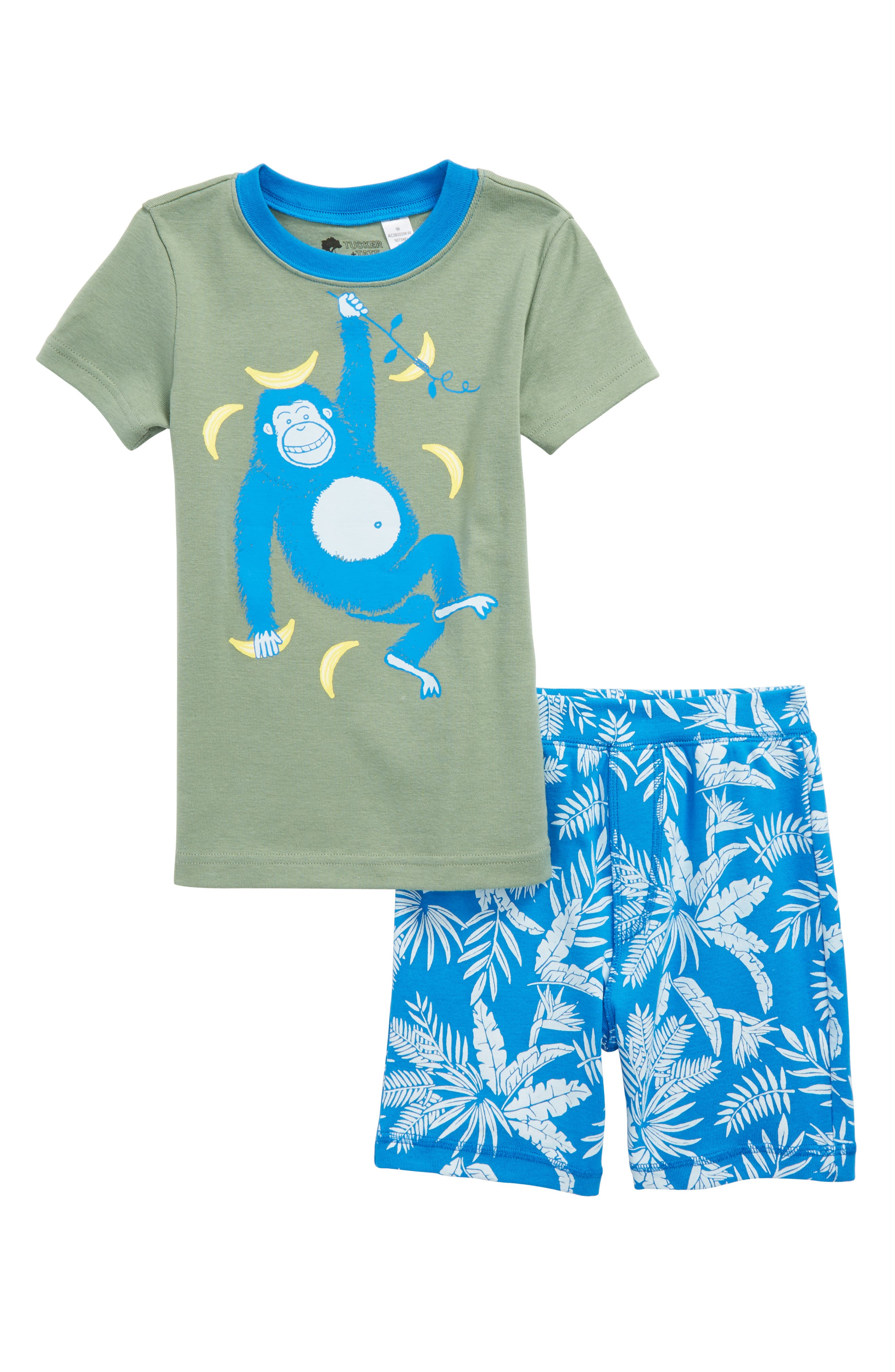 Fitted Two-Piece Pajamas,                             Main thumbnail 1, color,                             310