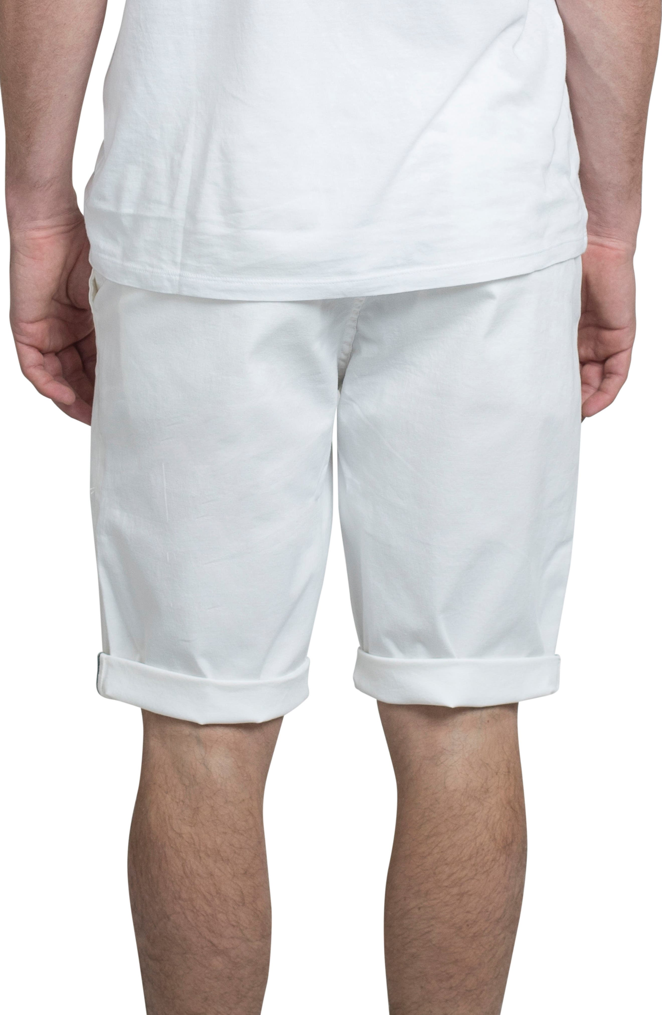 Slim Stretch Chino Shorts,                             Alternate thumbnail 2, color,                             111