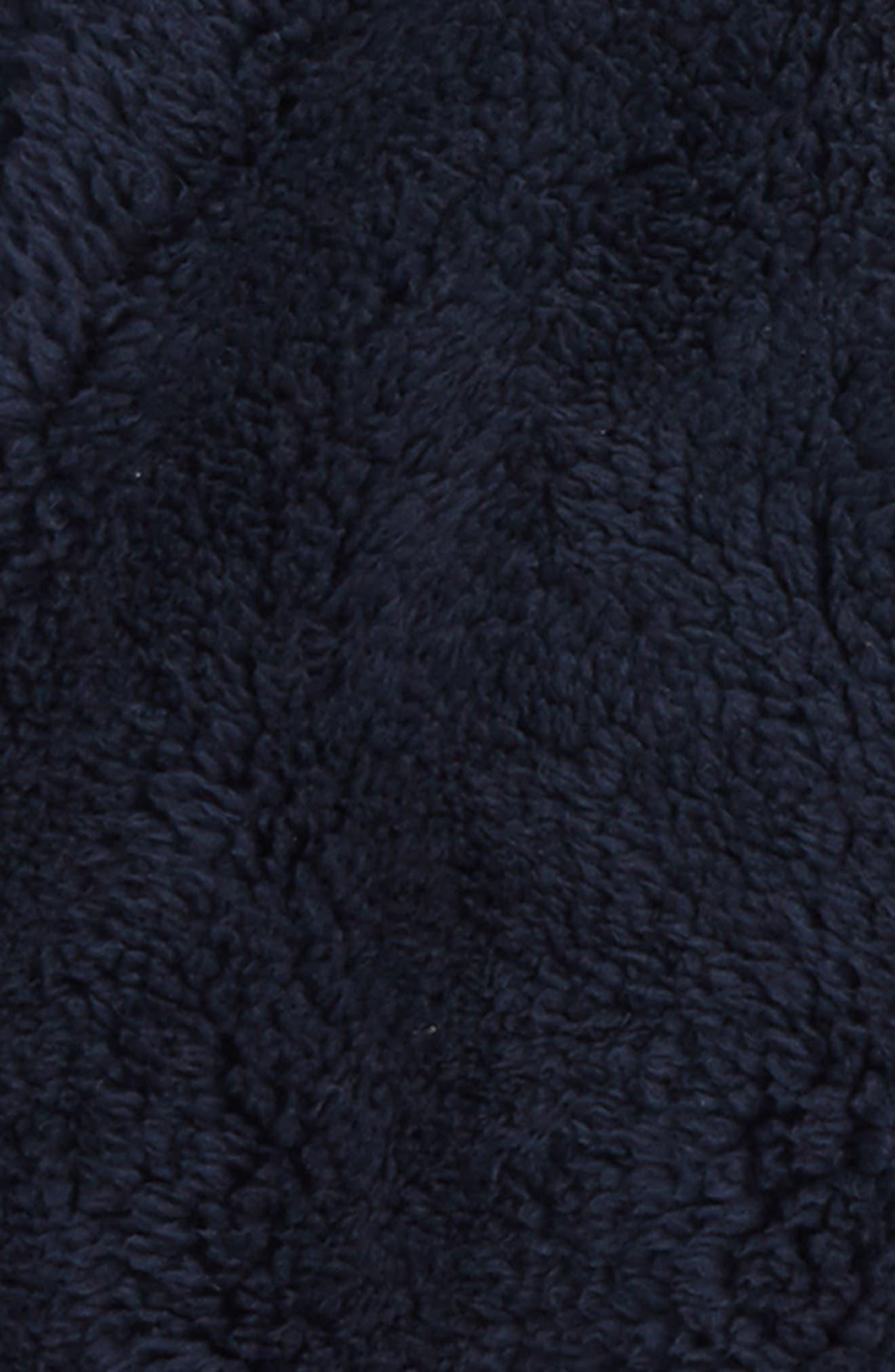 Reversible Quarter Zip Sweatshirt,                             Alternate thumbnail 3, color,                             404