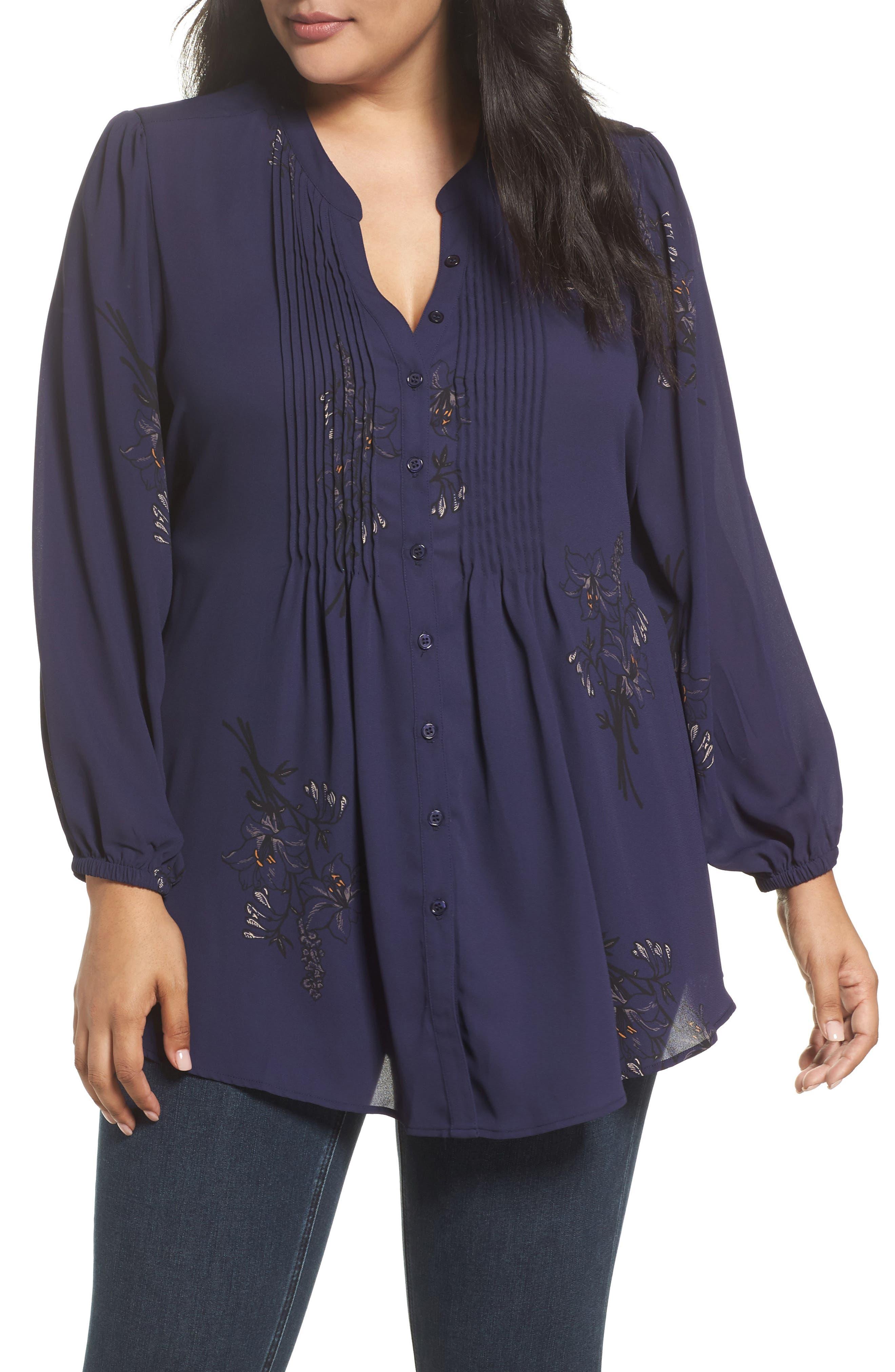 Classic Pintuck Shirt,                         Main,                         color, 409