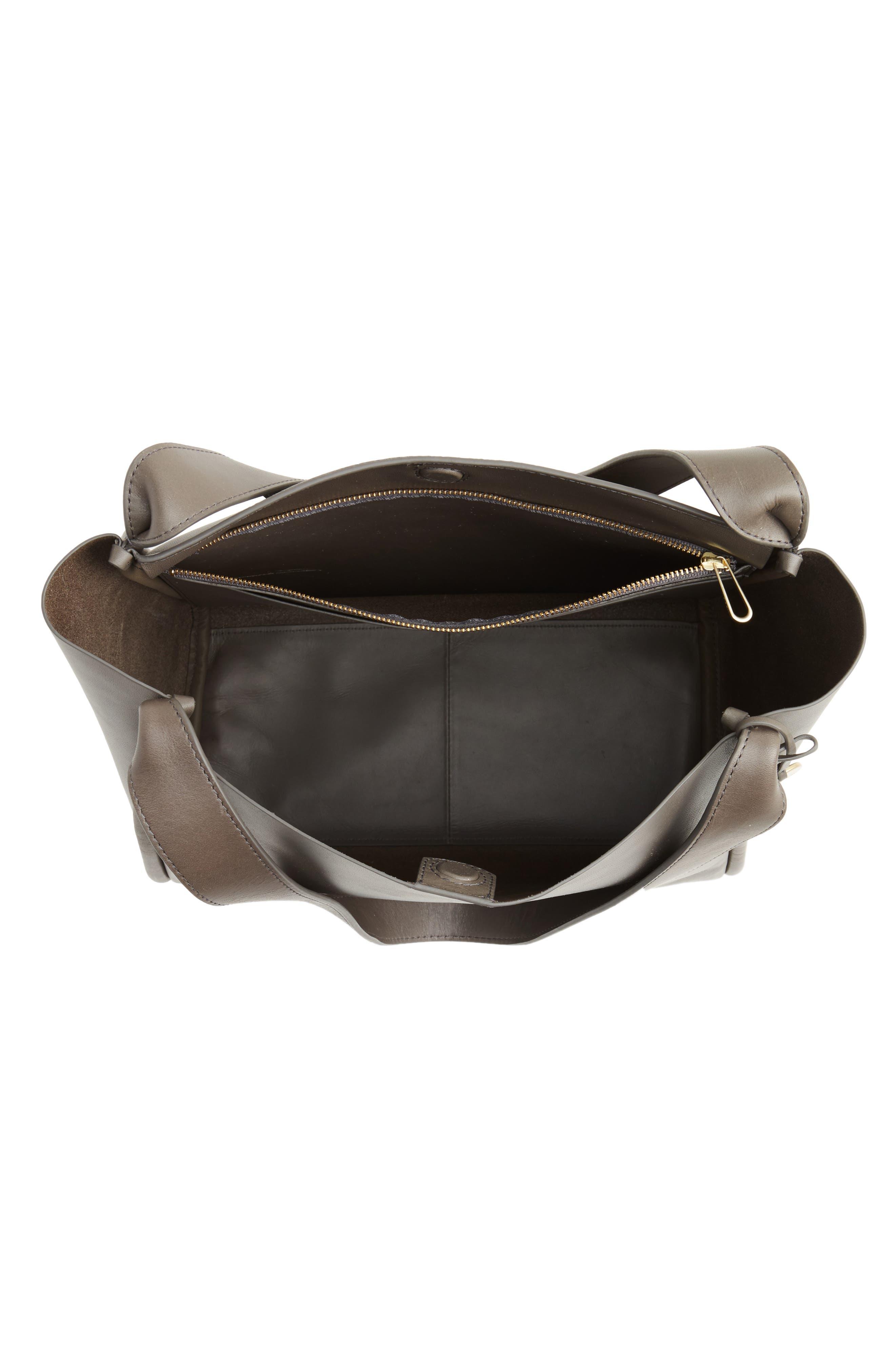 Karalie Leather Shoulder Bag,                             Alternate thumbnail 11, color,