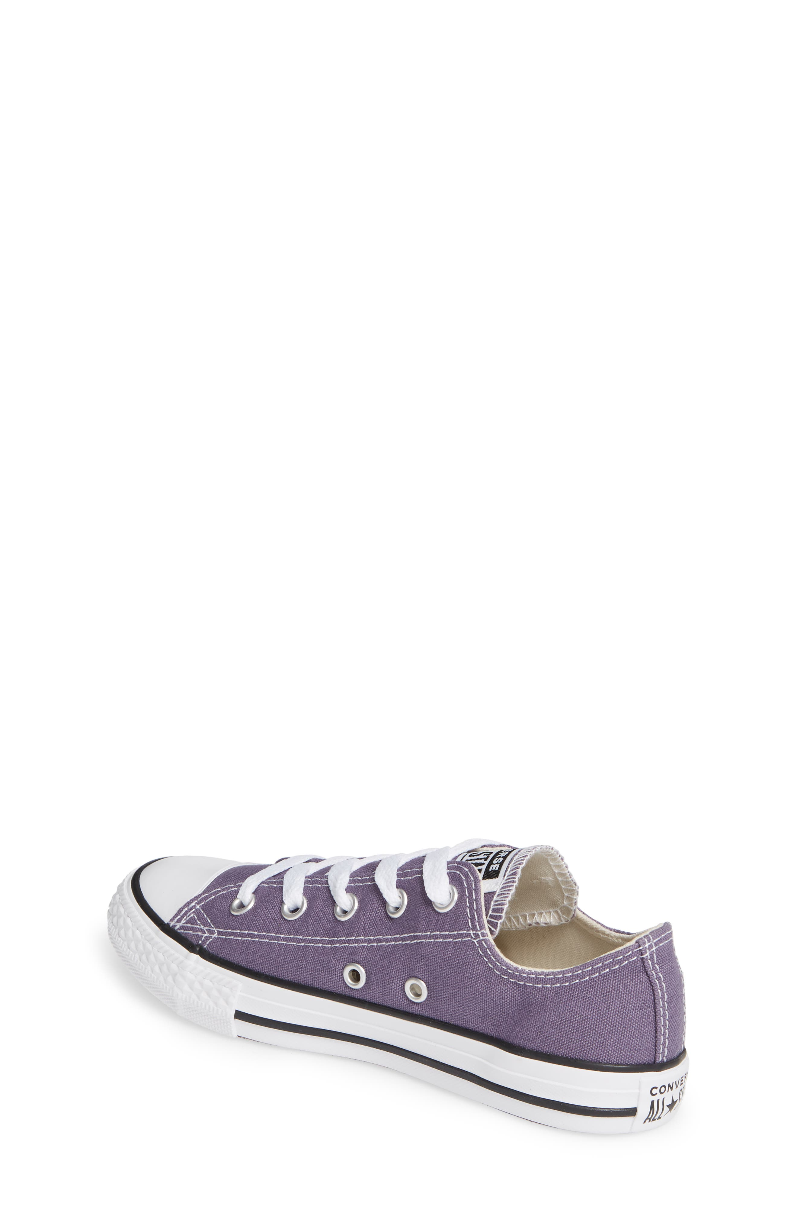 CONVERSE,                             Chuck Taylor<sup>®</sup> Sneaker,                             Alternate thumbnail 2, color,                             MOODY PURPLE/ NATURAL IVORY