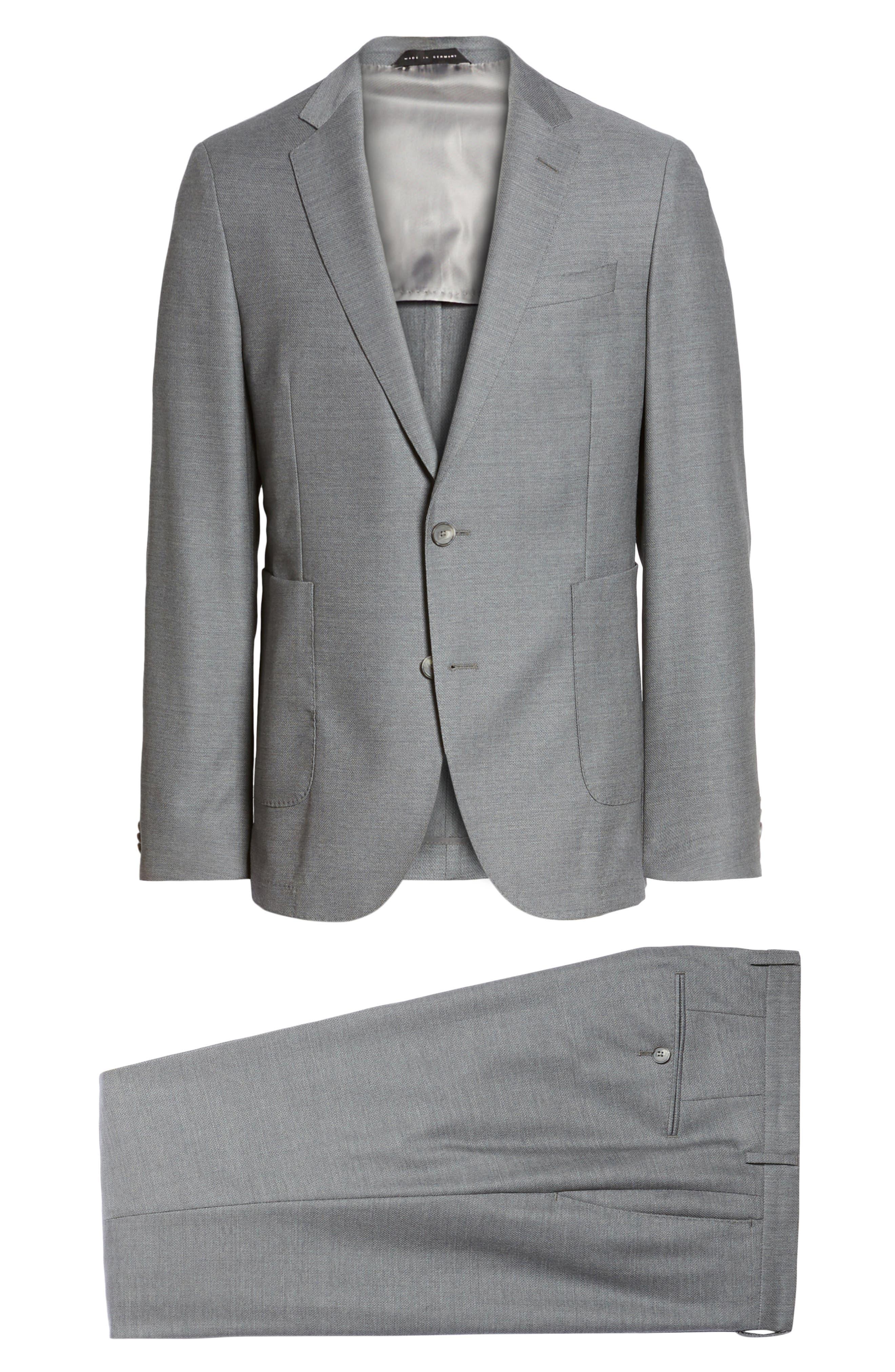 Novan/Ben Classic Fit Suit,                             Alternate thumbnail 8, color,