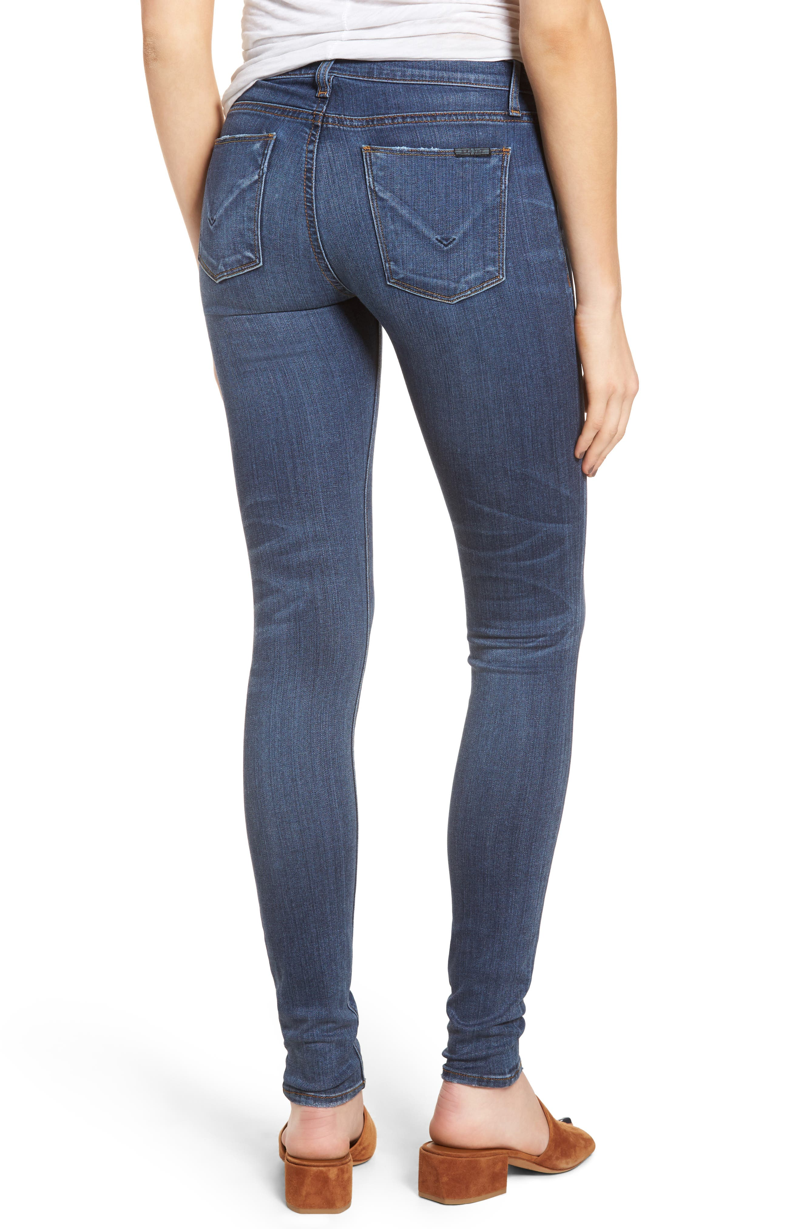 'Krista' Super Skinny Jeans,                             Alternate thumbnail 7, color,