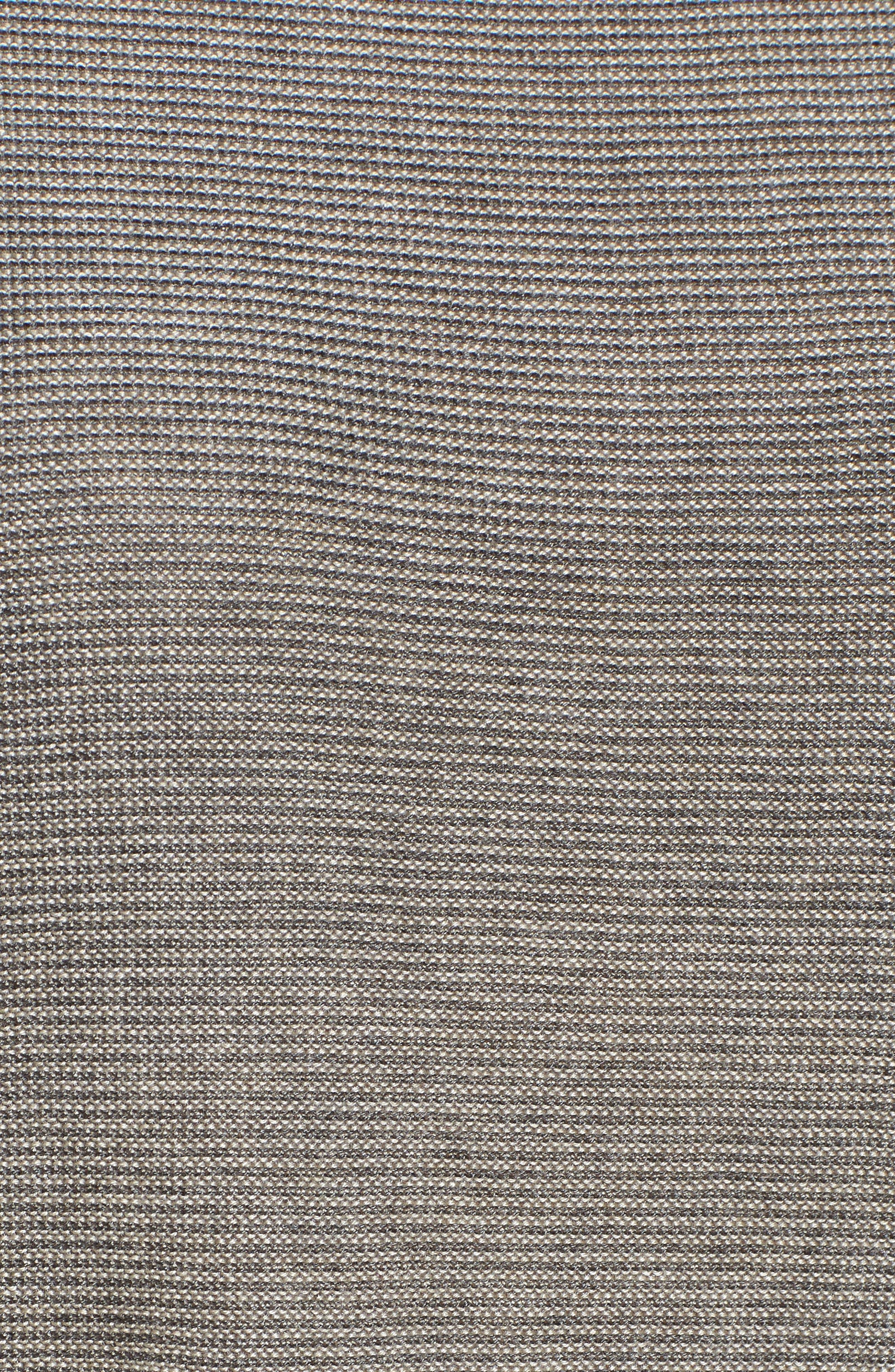 Tencel<sup>®</sup> & Merino Wool Tunic,                             Alternate thumbnail 5, color,                             030