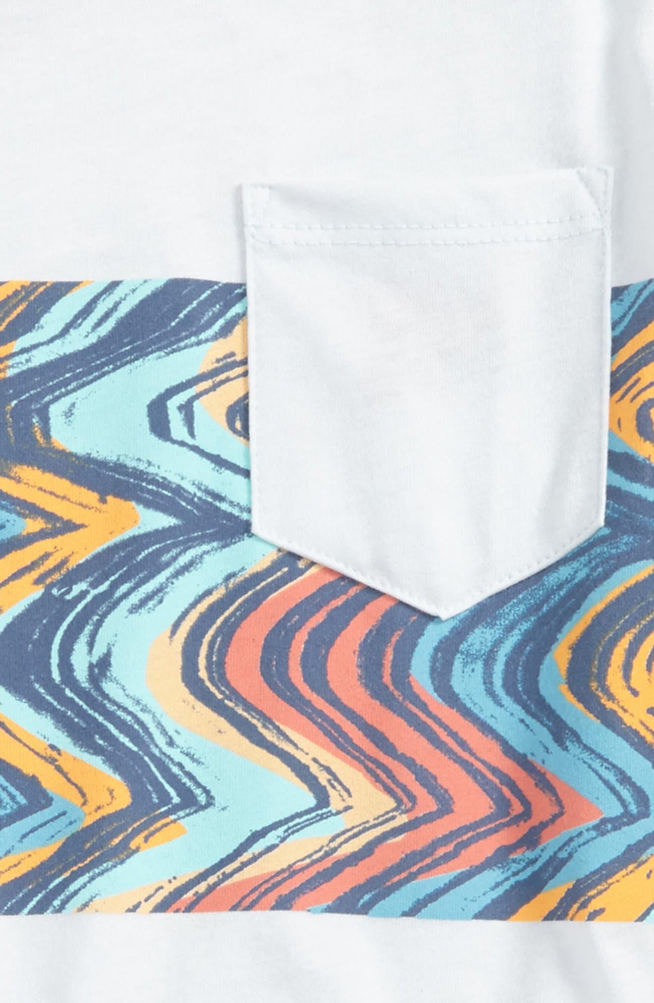 Lo-Fi Colorblock Pocket T-Shirt,                             Alternate thumbnail 4, color,