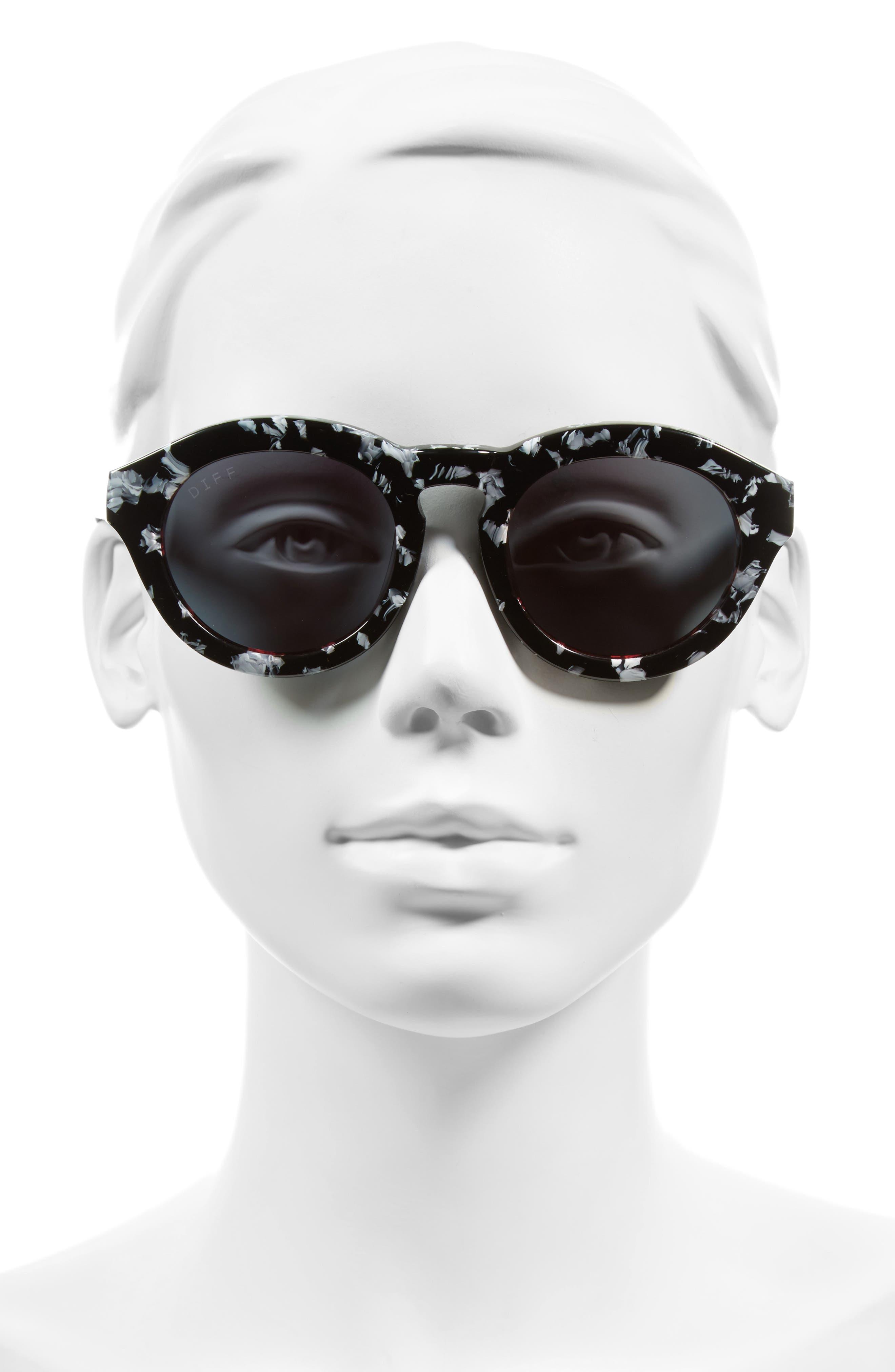 Dime 48mm Retro Sunglasses,                             Alternate thumbnail 23, color,