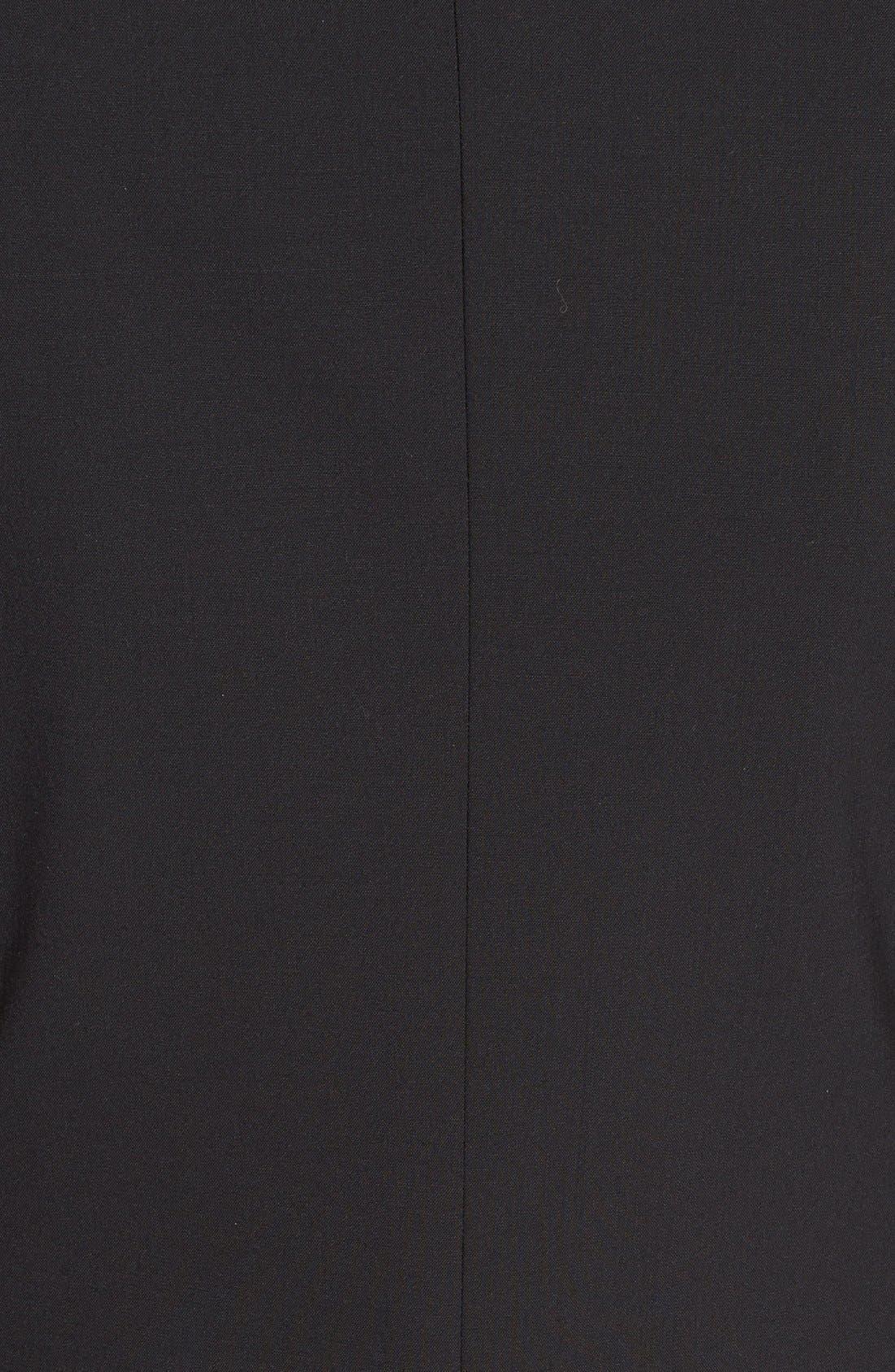 'Gabe' Stretch Wool Blazer,                             Alternate thumbnail 5, color,                             BLACK