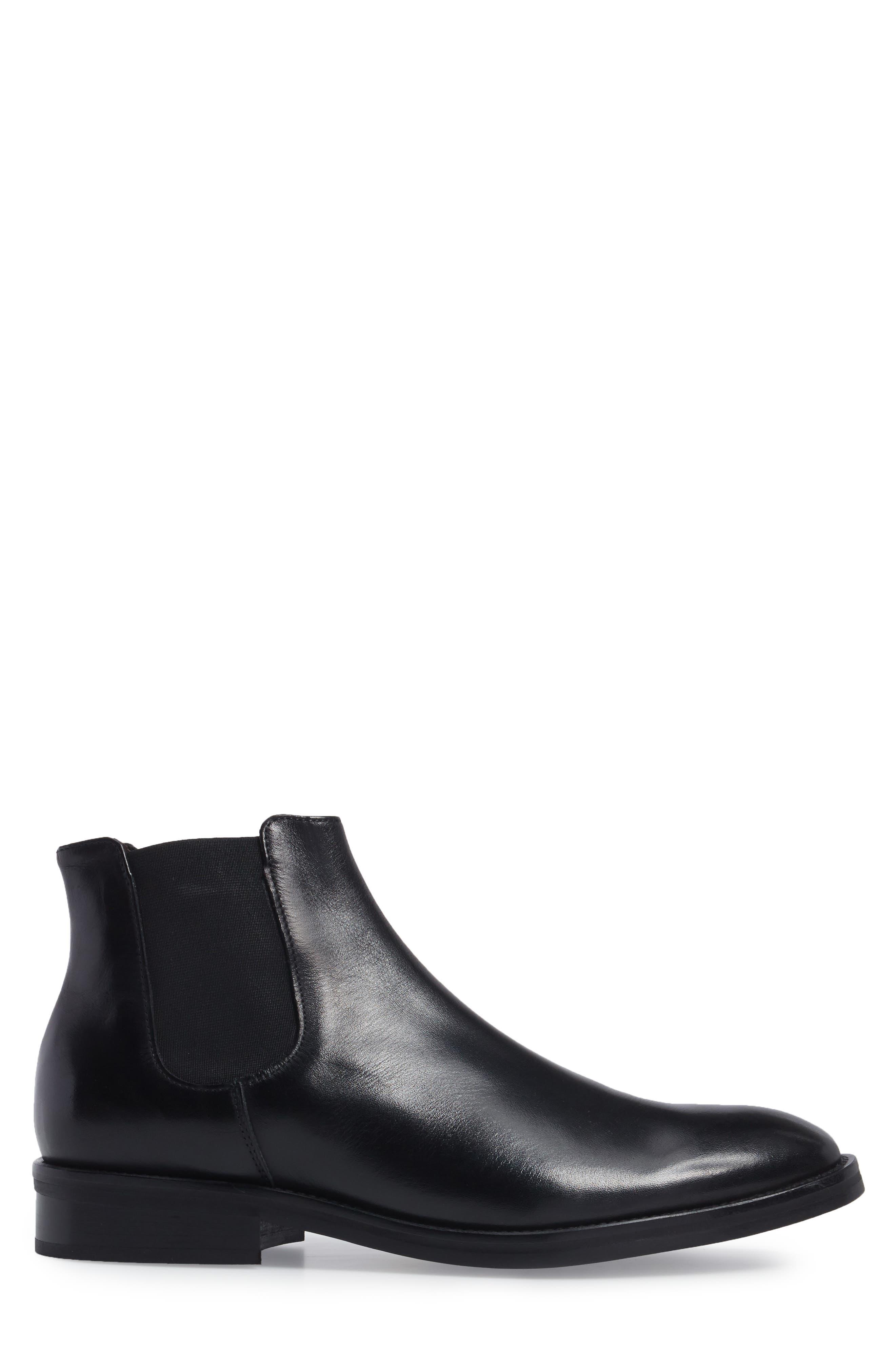 Finn Chelsea Boot,                             Alternate thumbnail 3, color,                             001