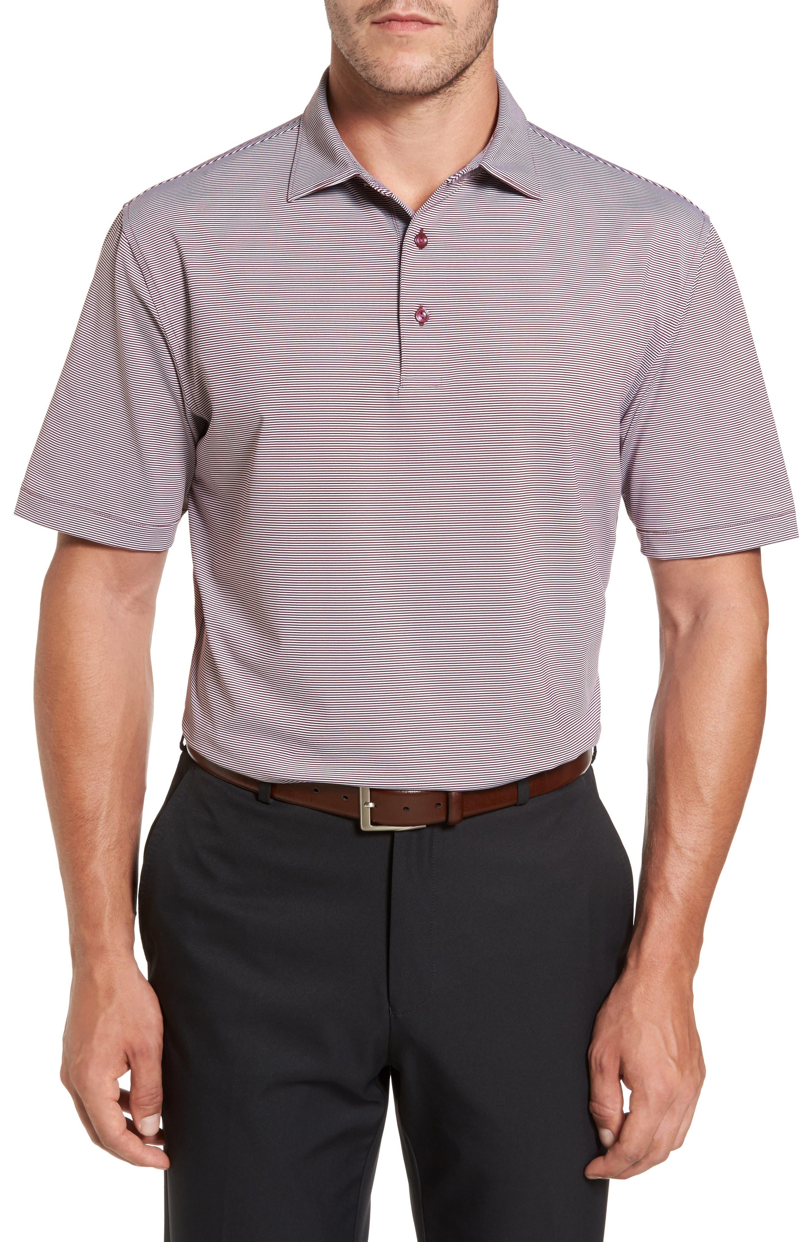 Sean Jubilee Stripe Jersey Polo,                             Main thumbnail 4, color,