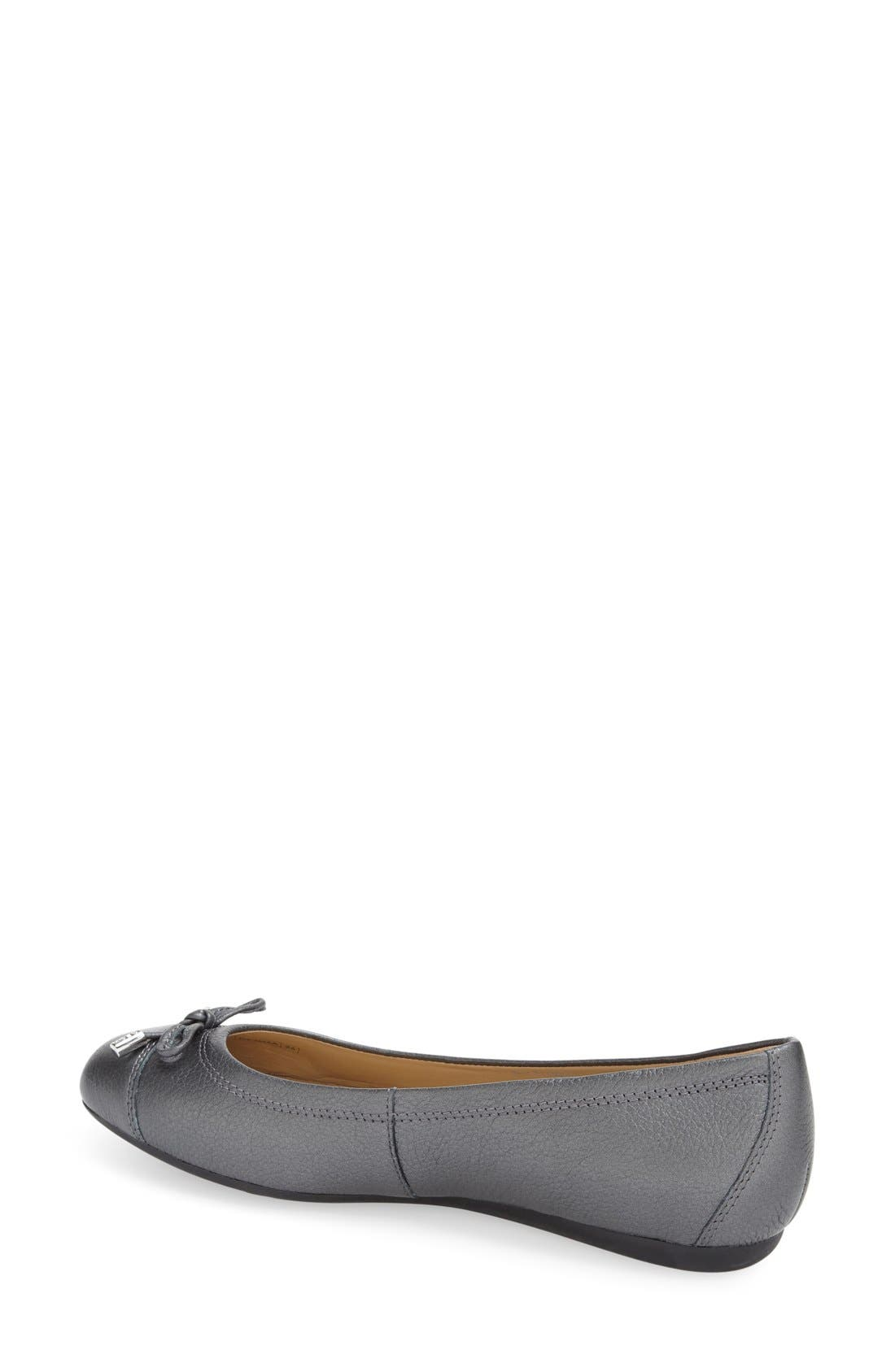 'Lola 16' Cap Toe Ballet Flat,                             Alternate thumbnail 6, color,