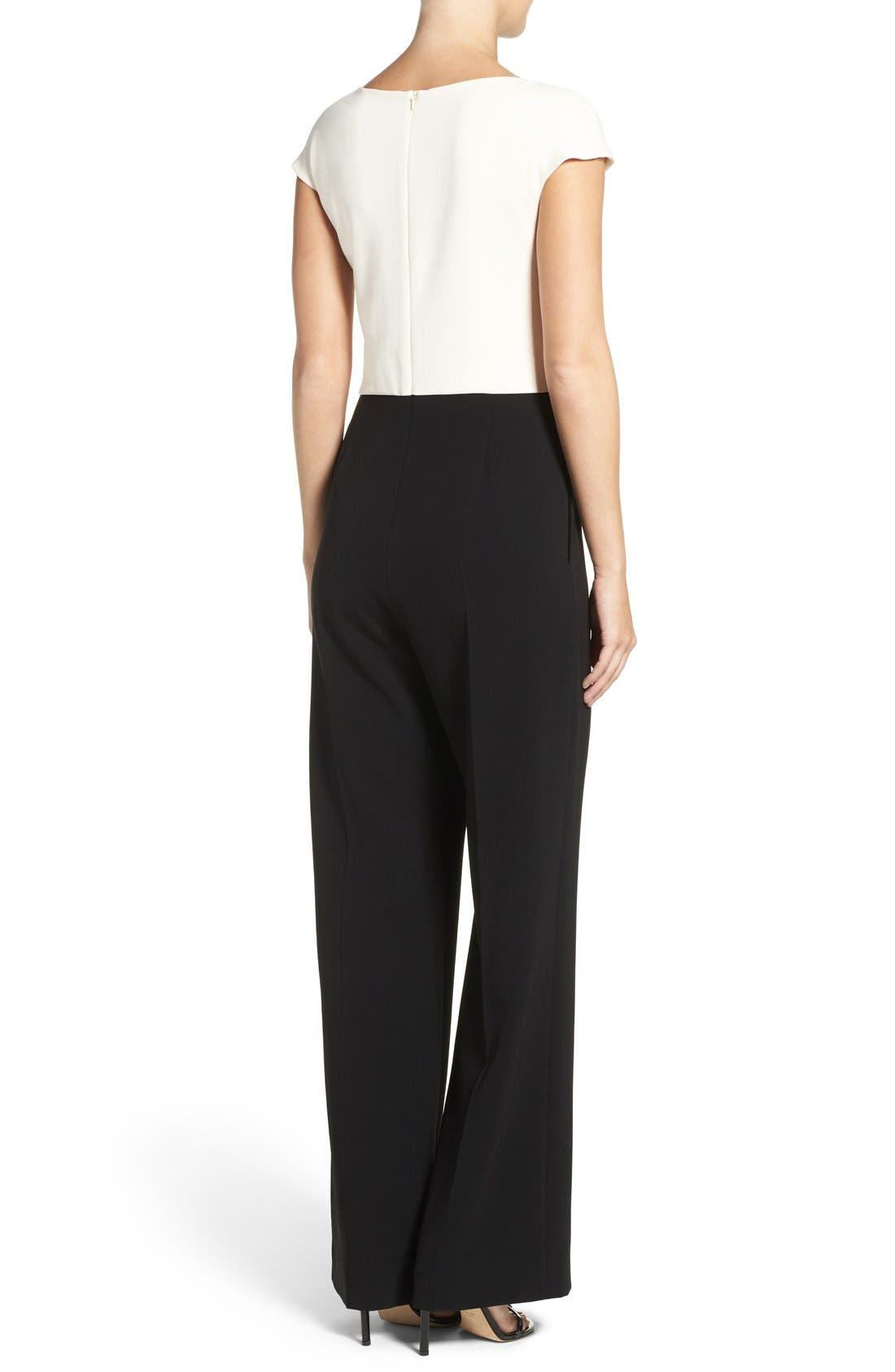 Wide Leg Jumpsuit,                             Alternate thumbnail 2, color,                             006