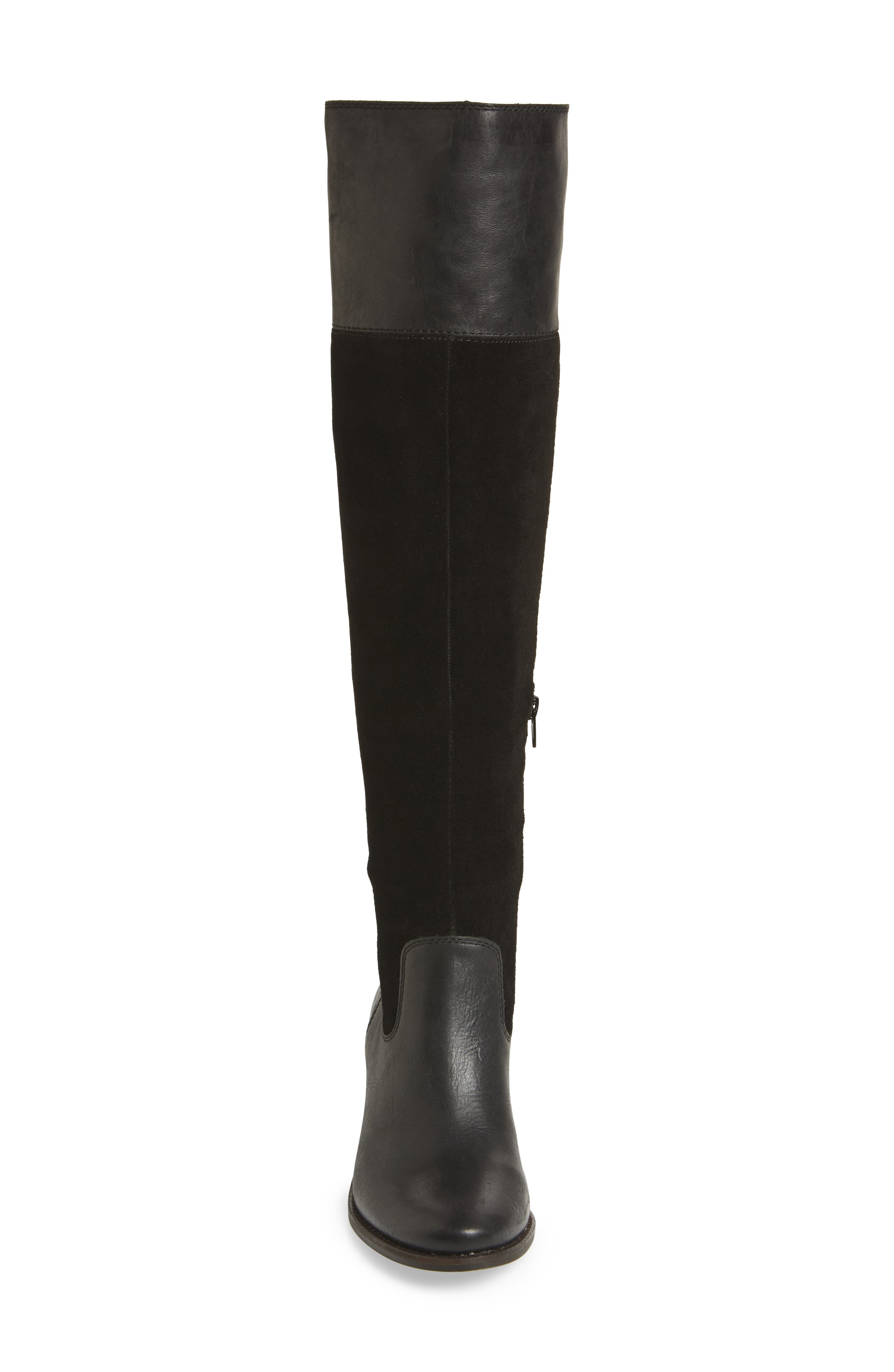 Komah Over the Knee Boot,                             Alternate thumbnail 4, color,                             001