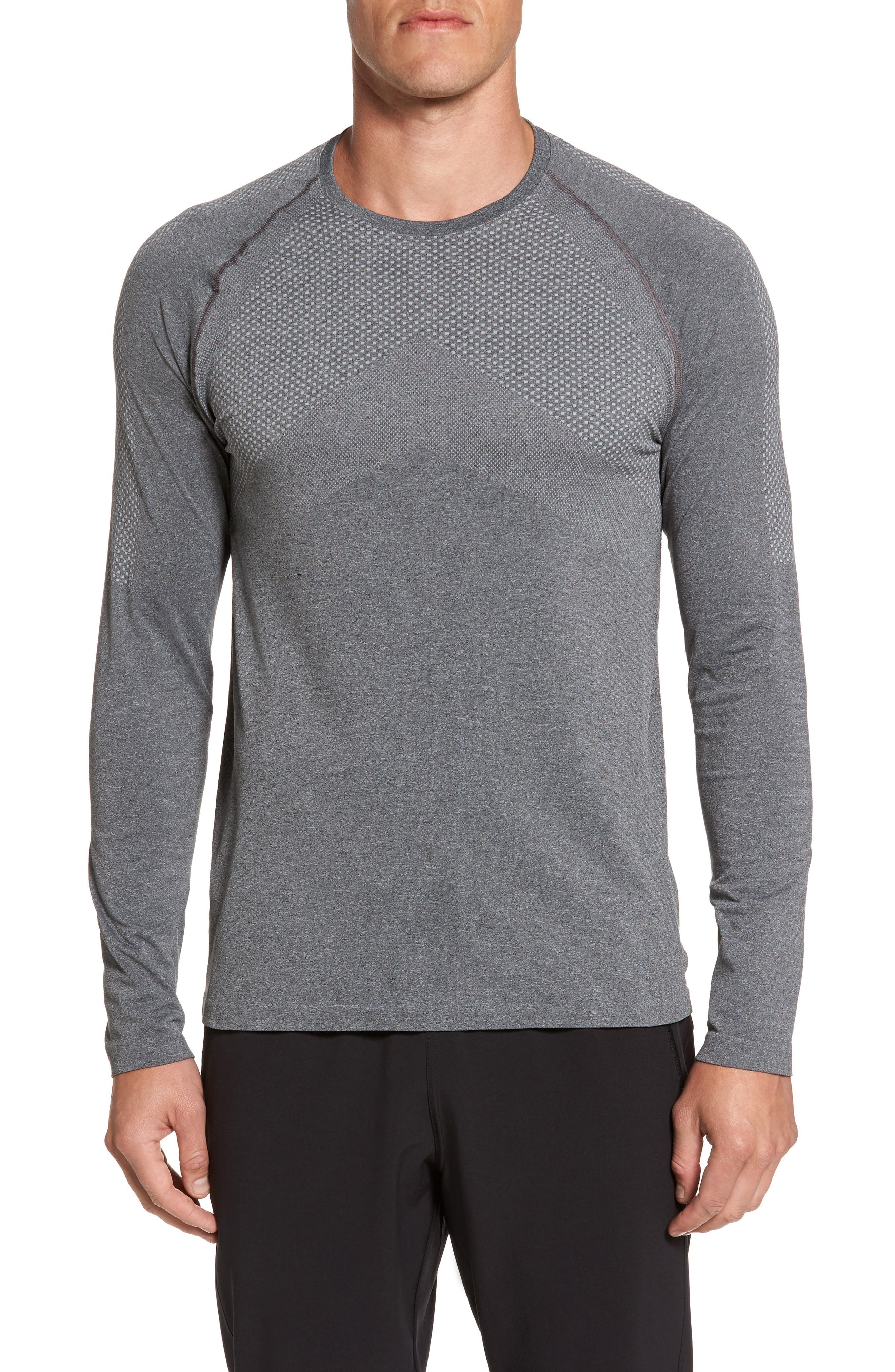 Zeolite Long Sleeve Performance T-Shirt,                             Main thumbnail 1, color,                             050