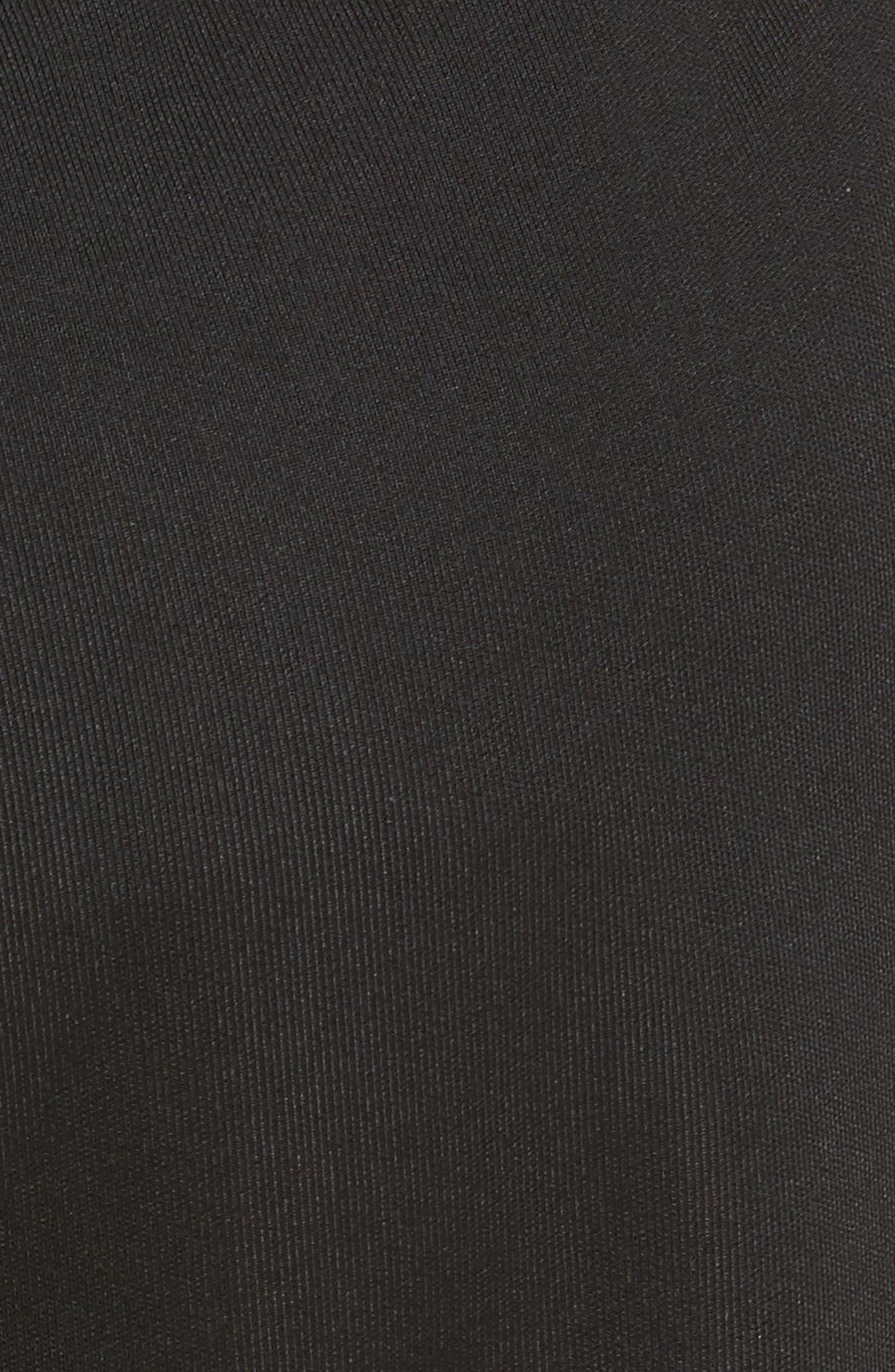 être cécile Rib Crop Track Pants,                             Alternate thumbnail 5, color,