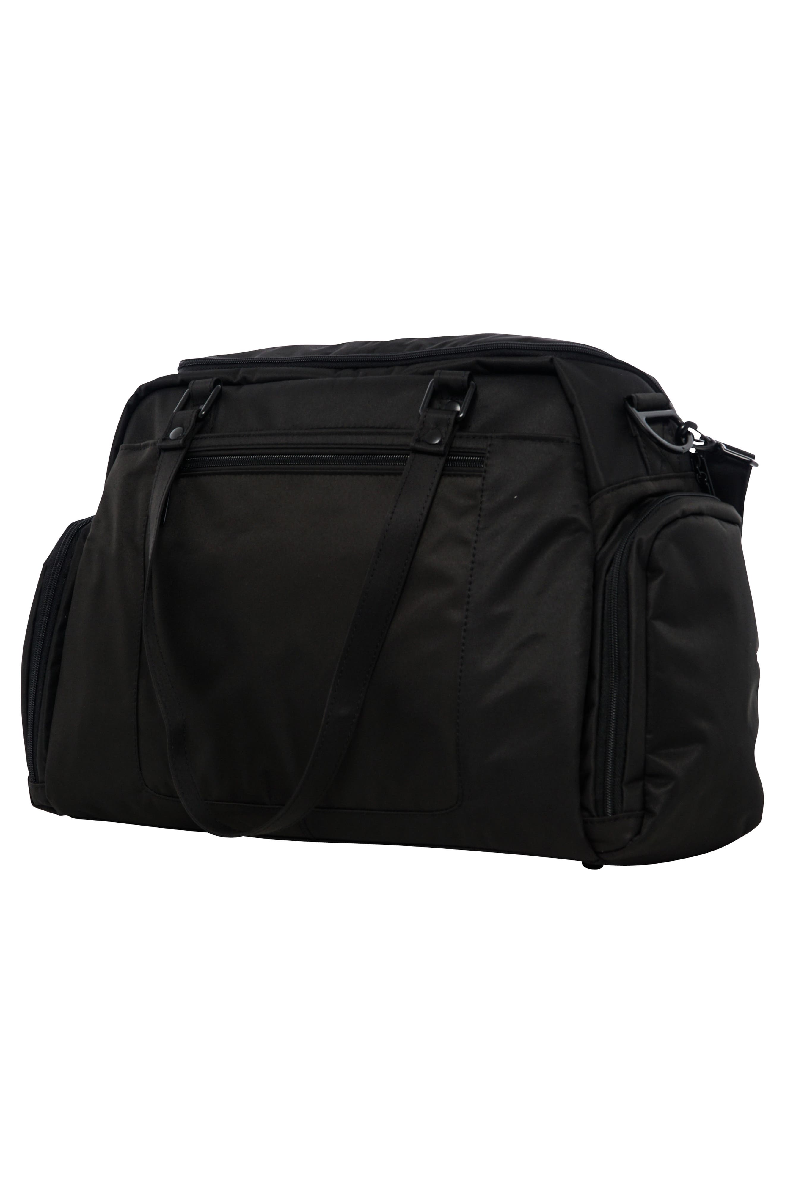 Onyx Be Pumped Bag,                             Alternate thumbnail 3, color,                             BLACK OUT