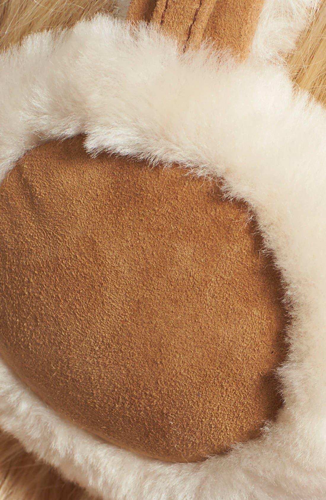 Australia 'Classic' Genuine Shearling Headphone Earmuffs,                             Alternate thumbnail 3, color,                             250