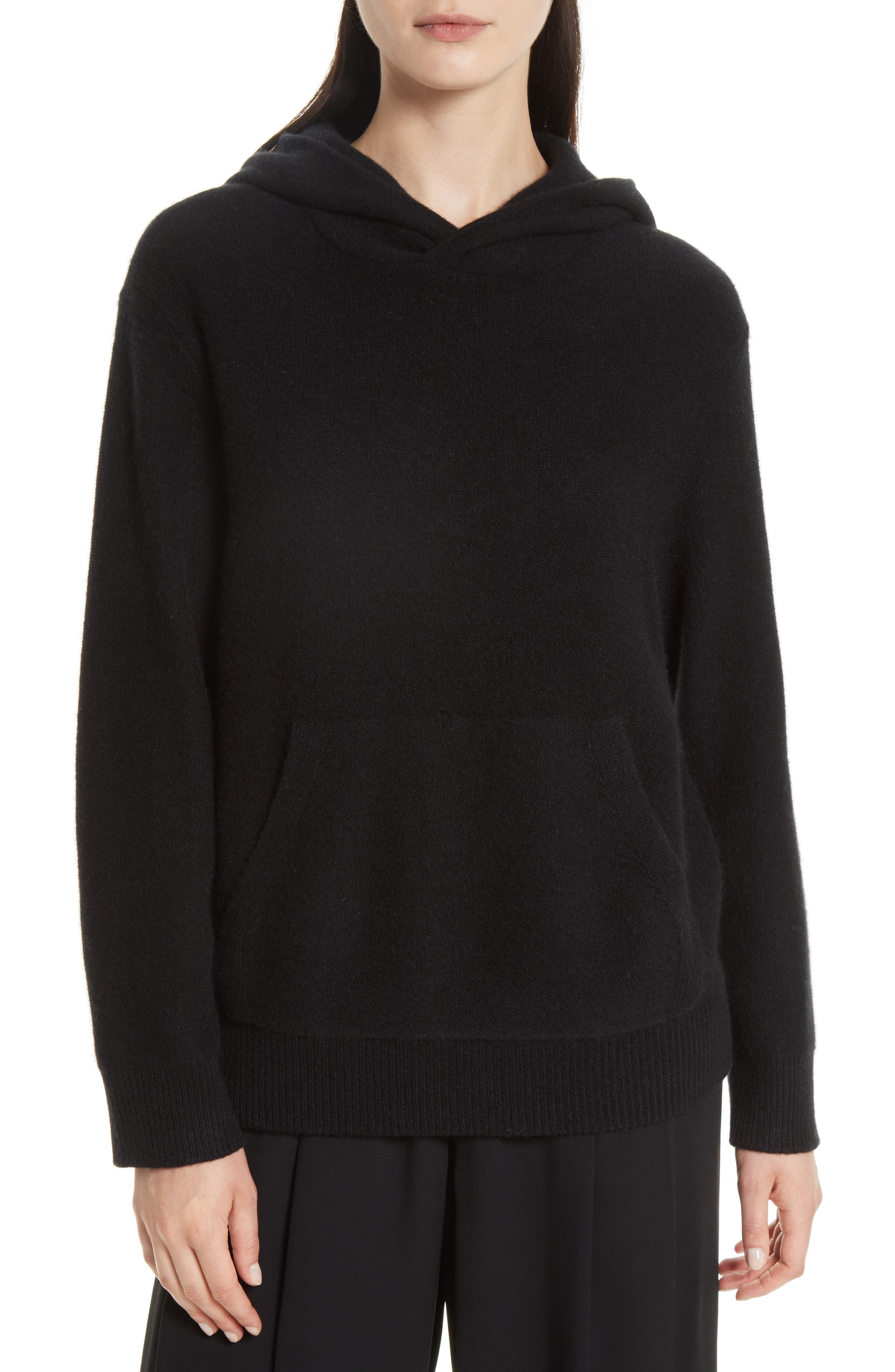 Cashmere Hoodie,                         Main,                         color, 001
