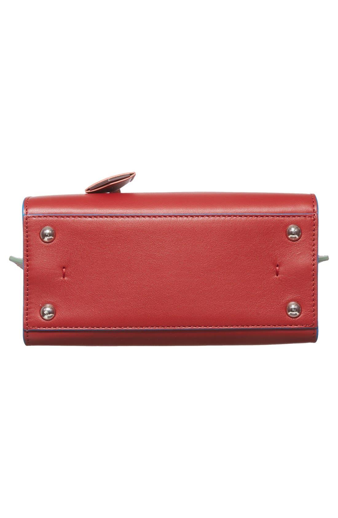 'Mini 3Jours' Calfskin Leather Shopper,                             Alternate thumbnail 22, color,
