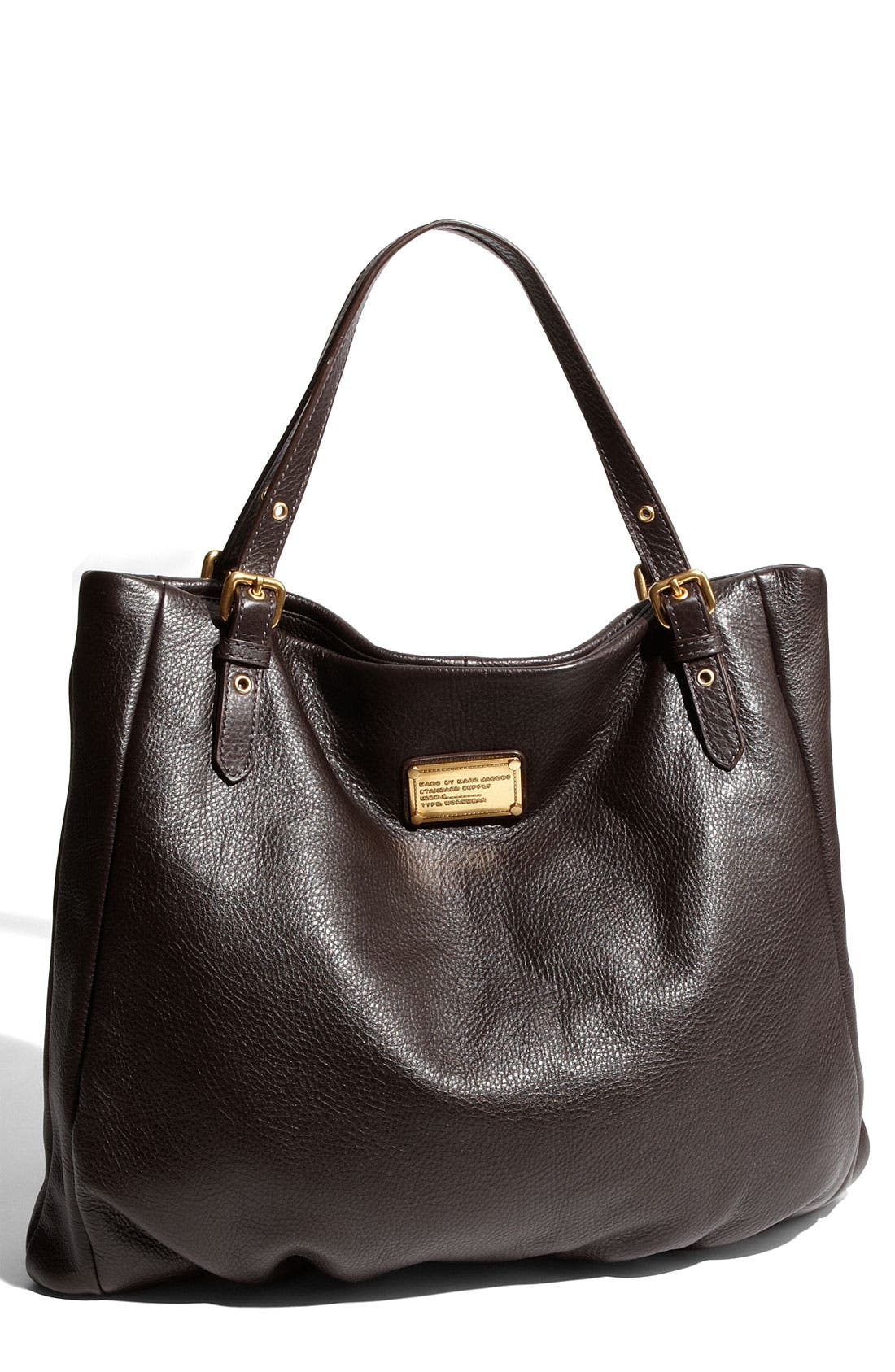 MARC BY MARC JACOBS 'Classic Q - Shopgirl' Leather Tote,                             Main thumbnail 3, color,
