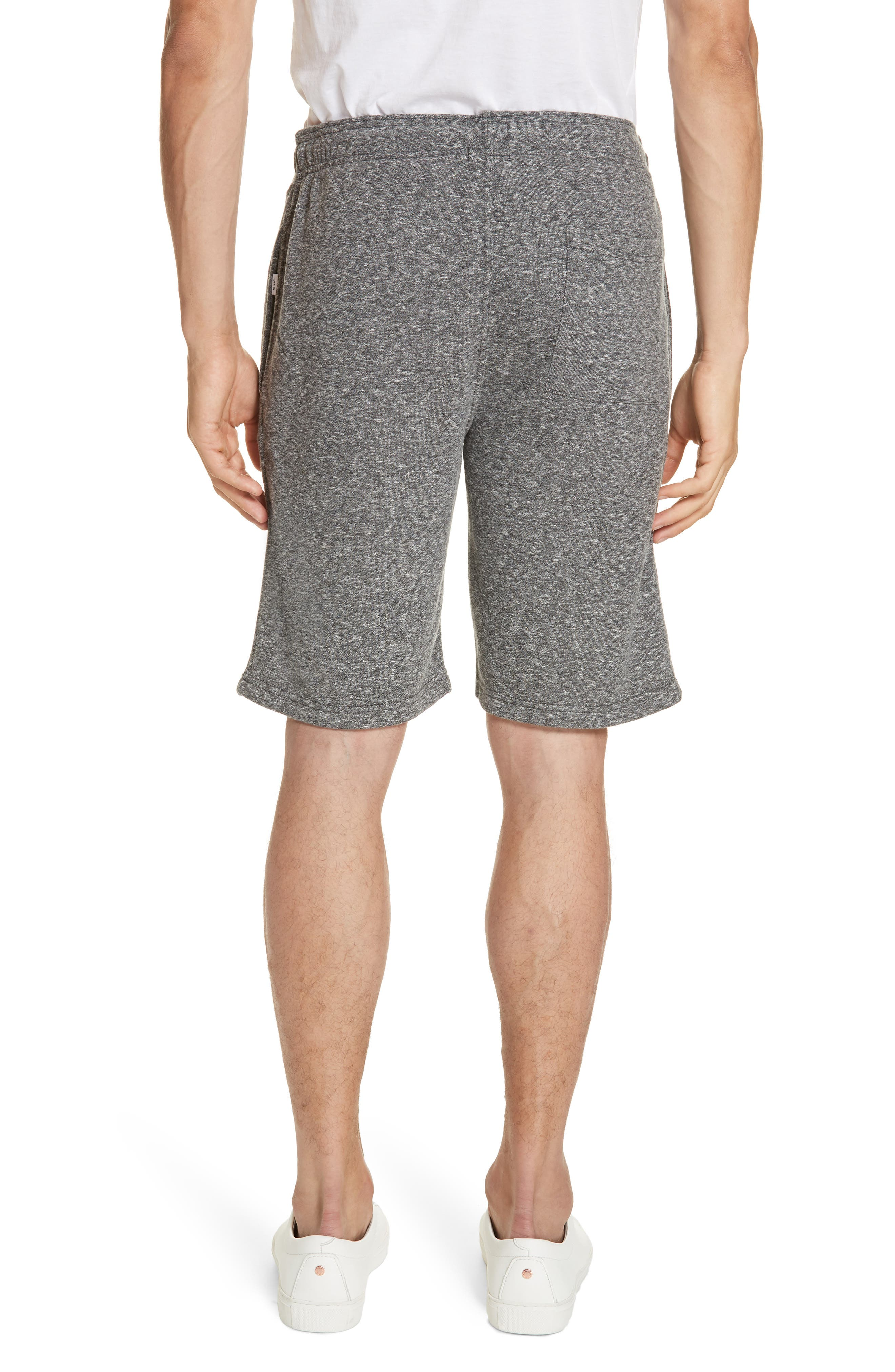 ONIA,                             Saul Terry Knit Shorts,                             Alternate thumbnail 2, color,                             ANCHOR GREY