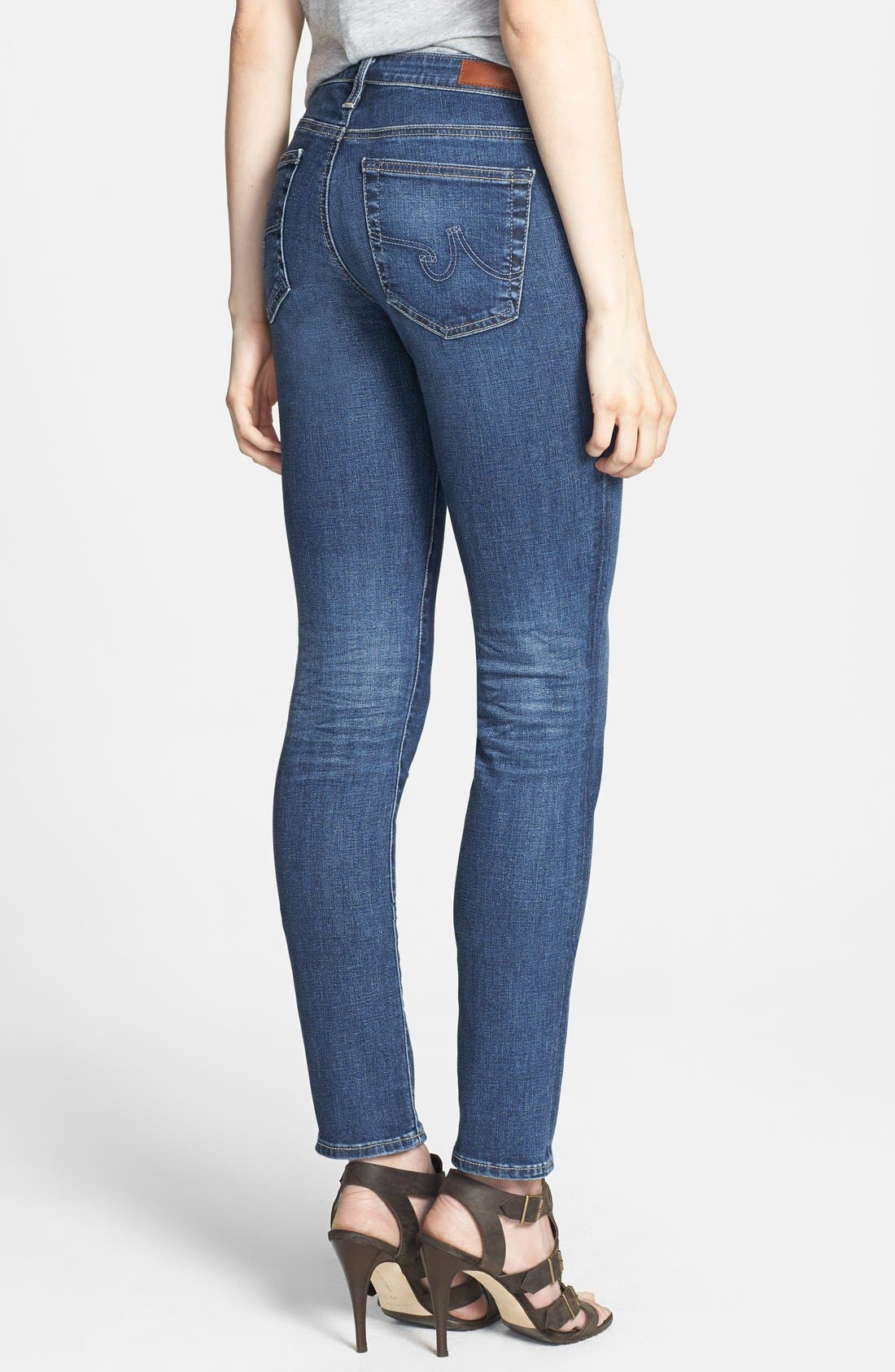'Prima' Skinny Jeans,                             Alternate thumbnail 21, color,