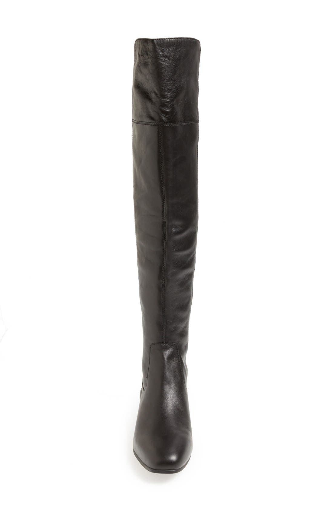 LOUISE ET CIE,                             'Andora' Over the Knee Boot,                             Alternate thumbnail 2, color,                             002