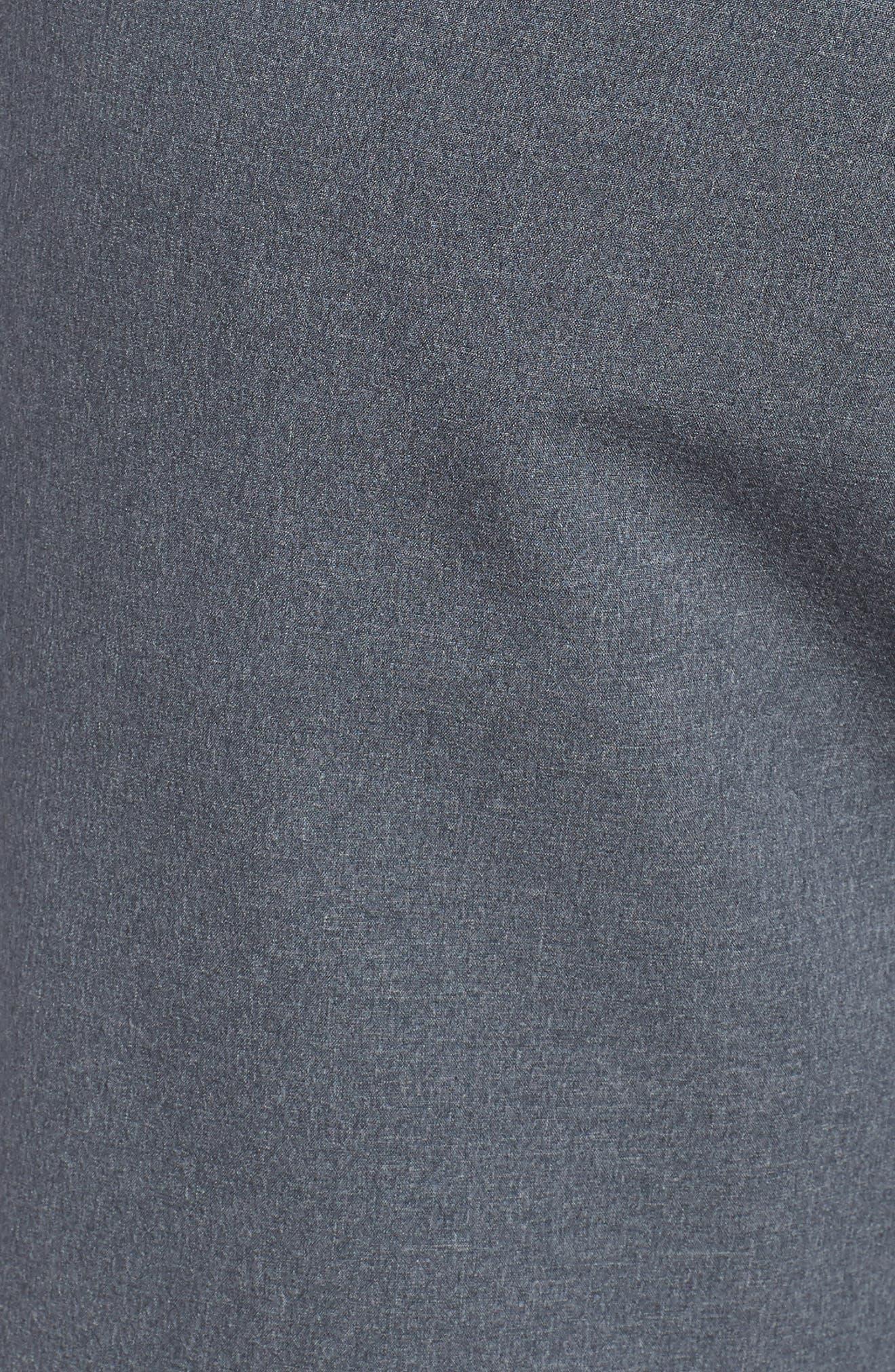 Dry Flex Slim Fit Golf Shorts,                             Alternate thumbnail 5, color,                             001