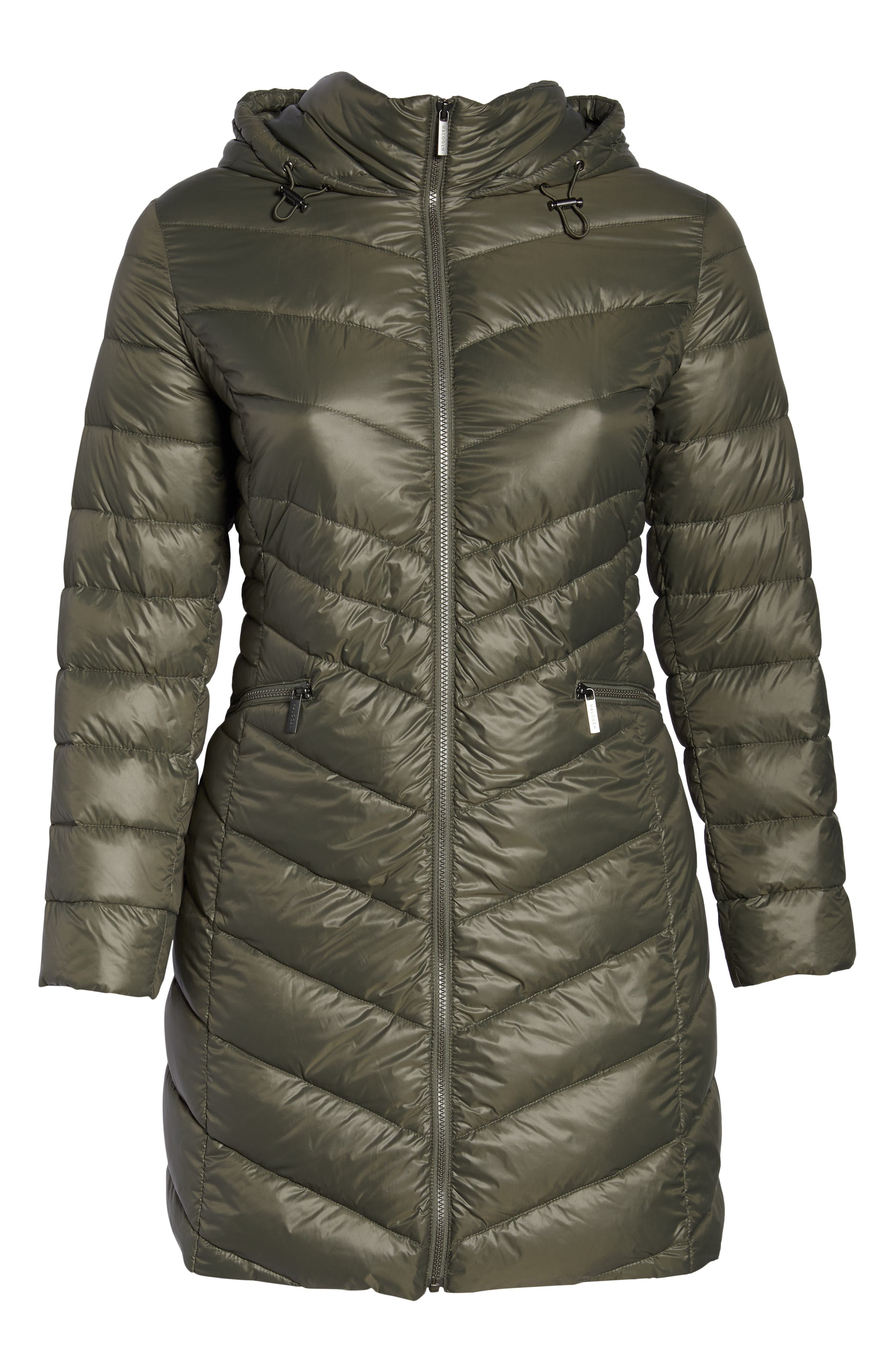 HALOGEN<SUP>®</SUP>,                             Hooded Puffer Jacket,                             Alternate thumbnail 6, color,                             030