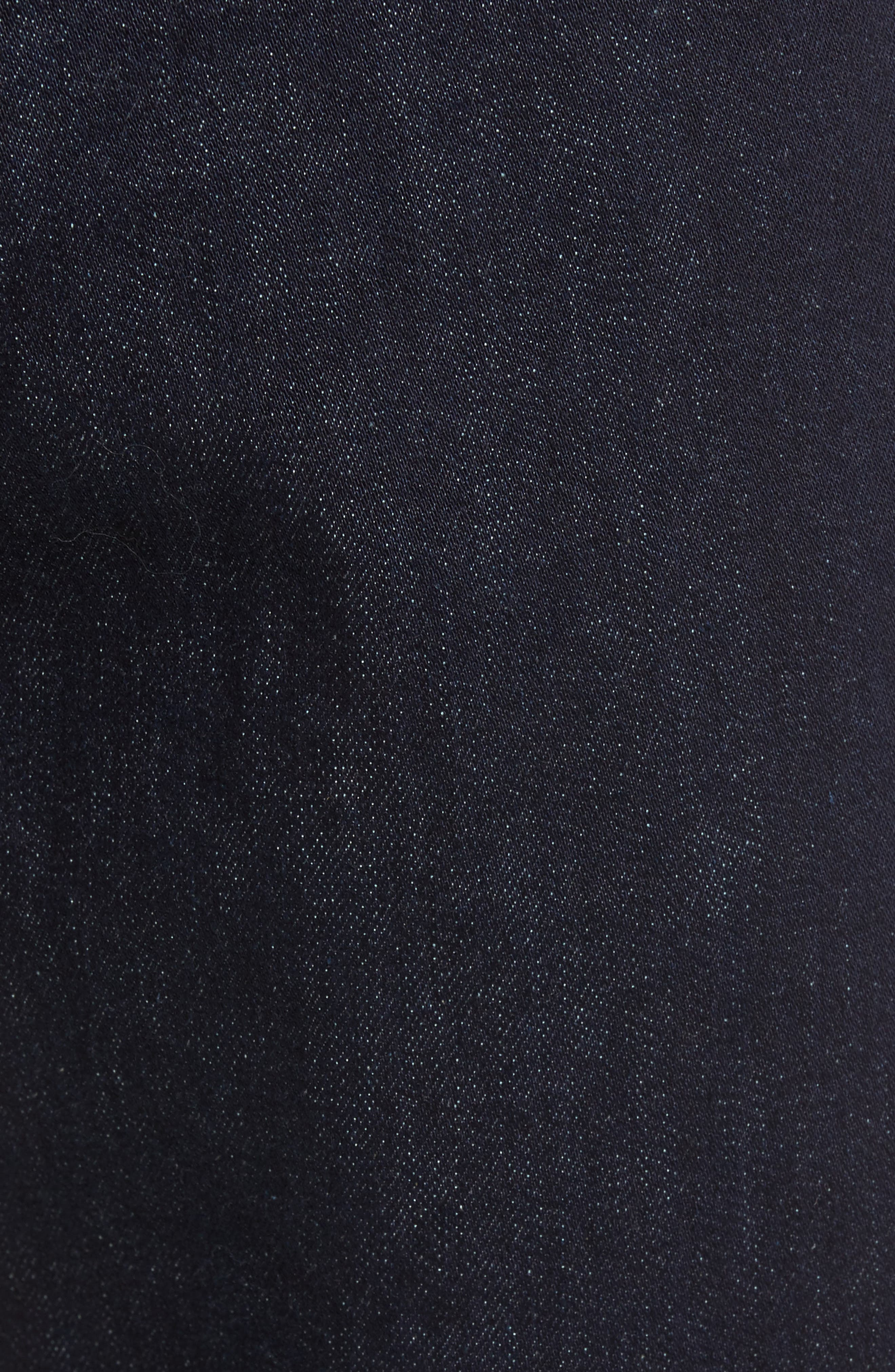 Stretch Slim Fit Raw Denim Jeans,                             Alternate thumbnail 5, color,