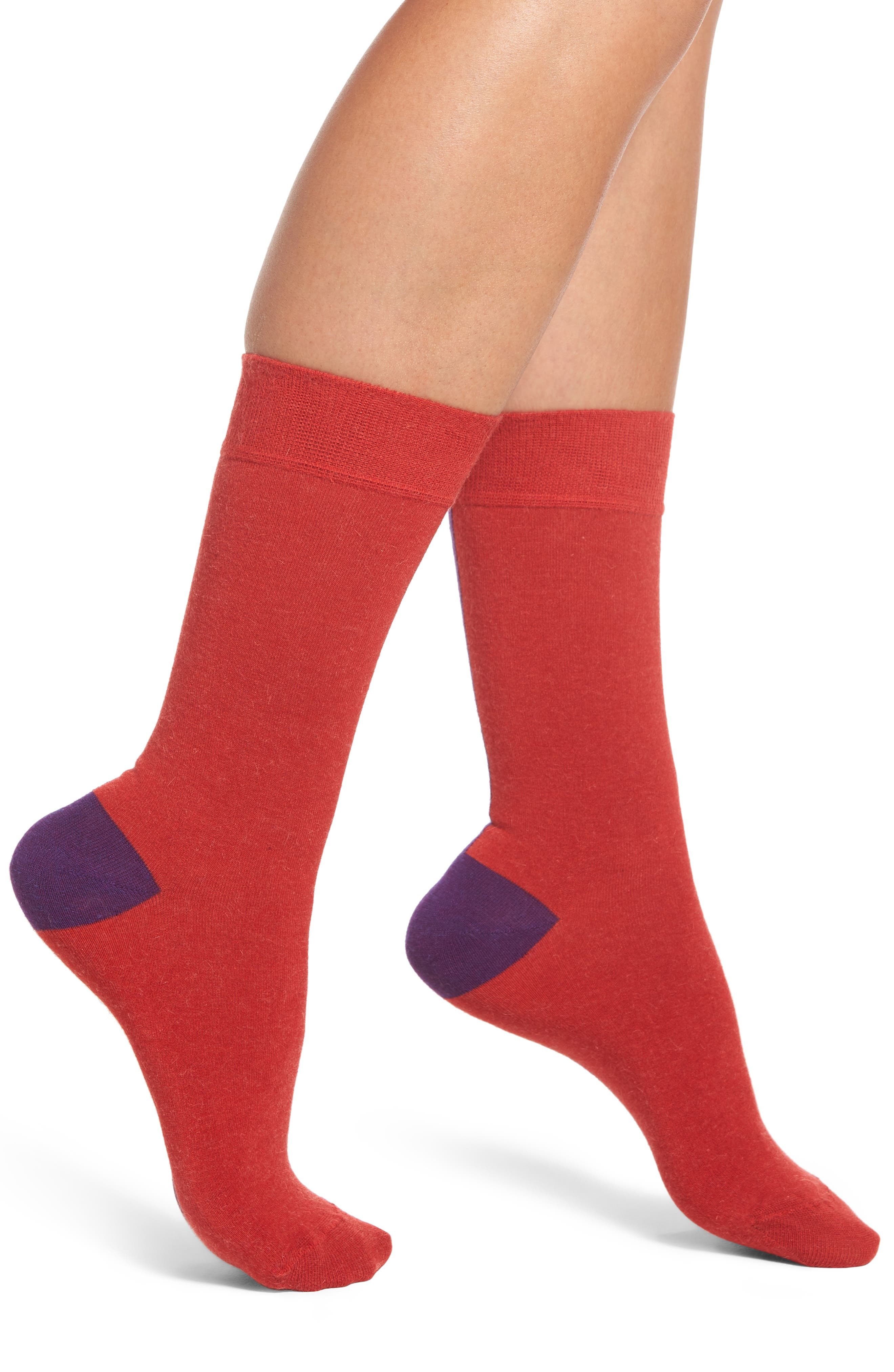 Gigi Crew Socks,                             Main thumbnail 1, color,