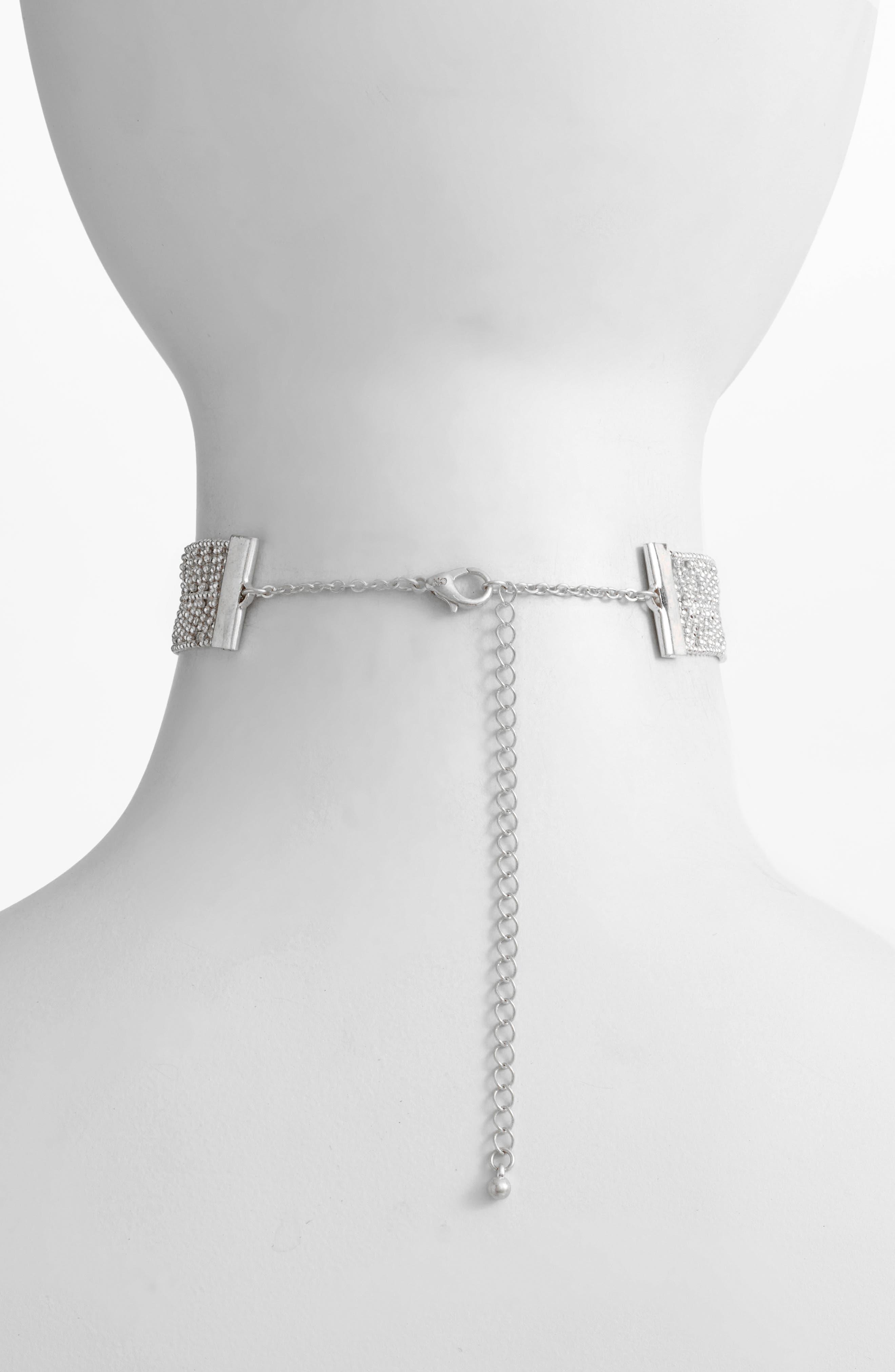 Elm Choker Necklace,                             Alternate thumbnail 2, color,                             040