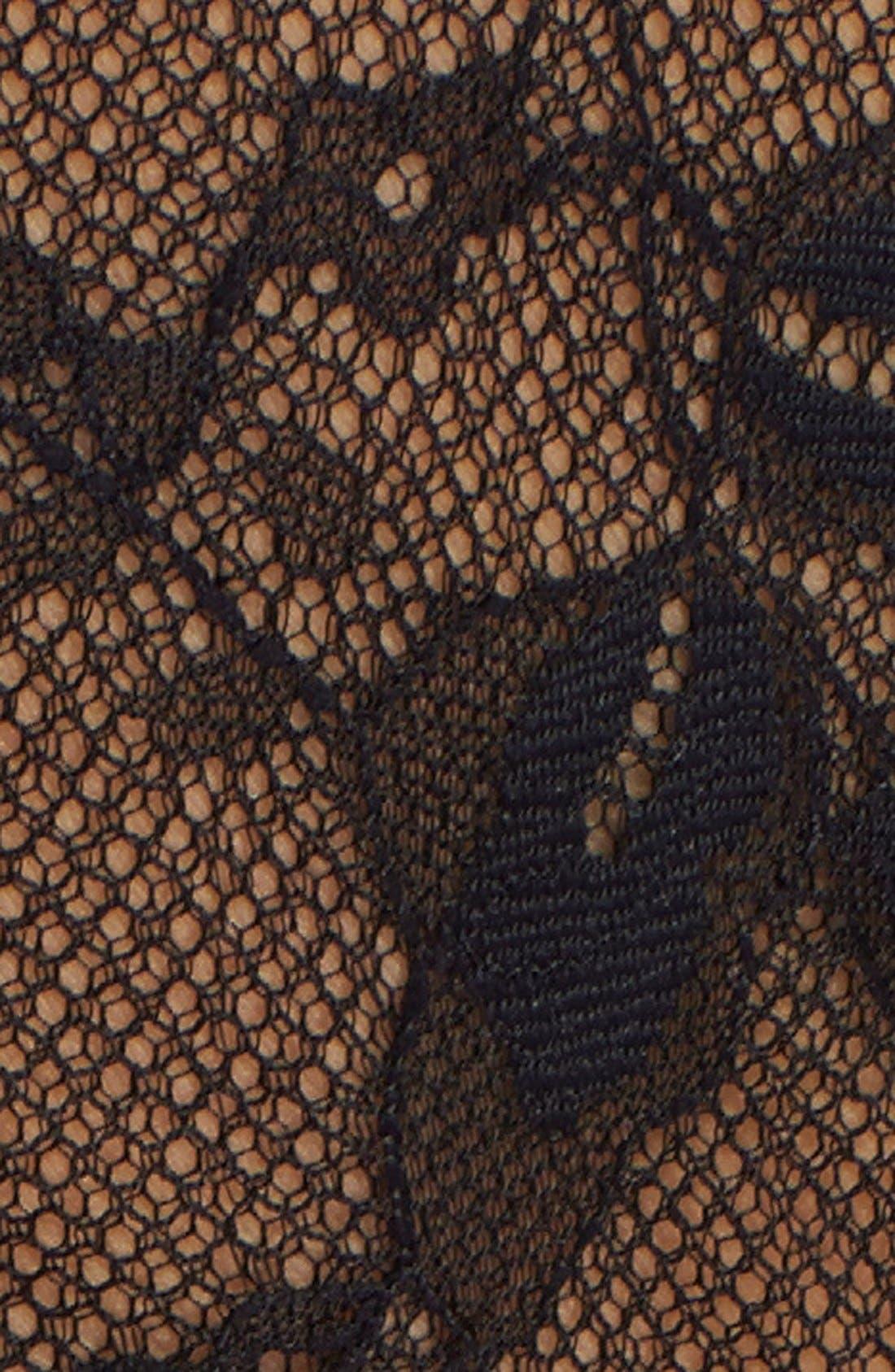 'Seduction' Wool Wrap Dress,                             Alternate thumbnail 3, color,                             120