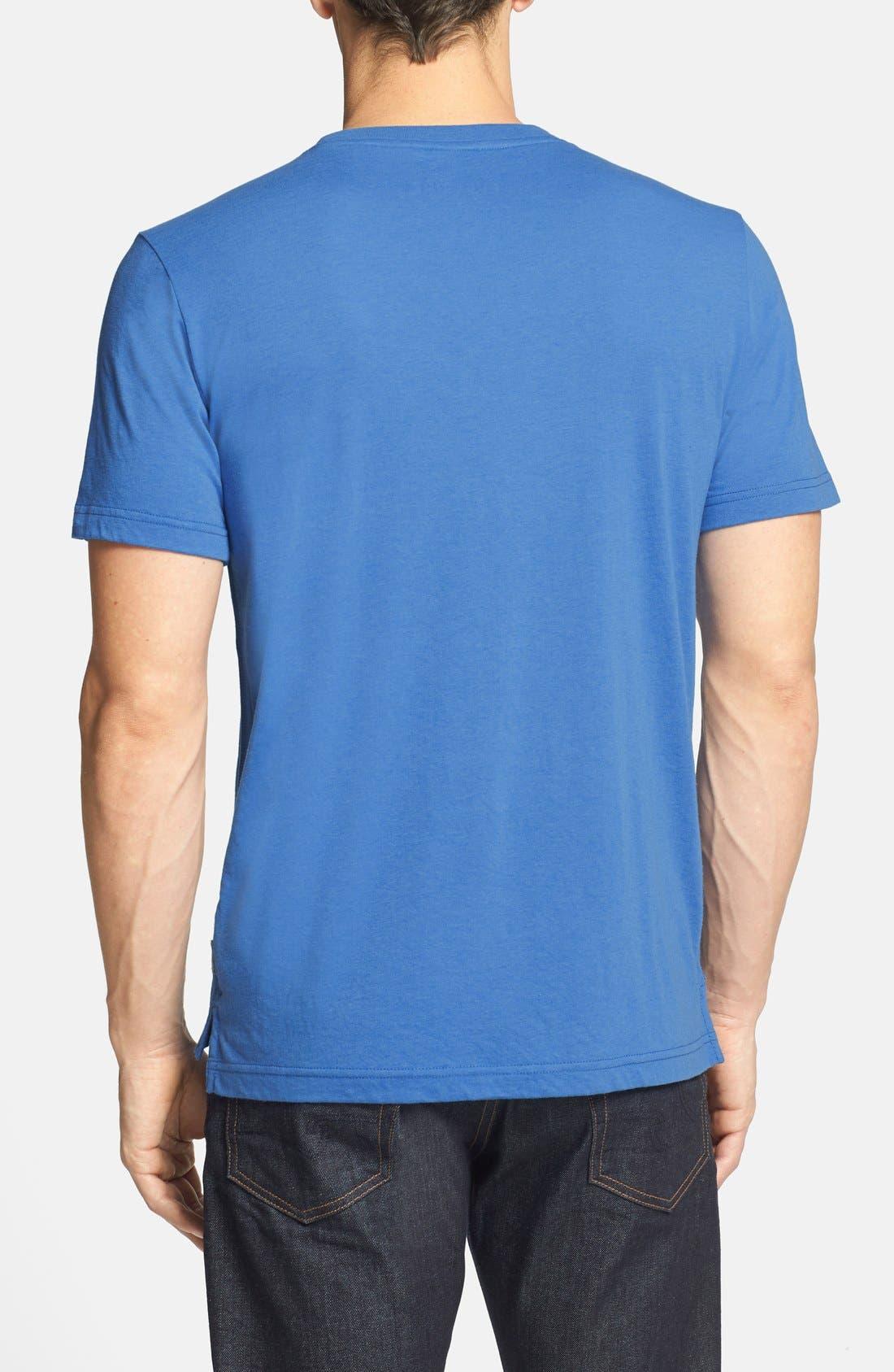 'S-Wave' T-Shirt,                             Alternate thumbnail 3, color,                             409