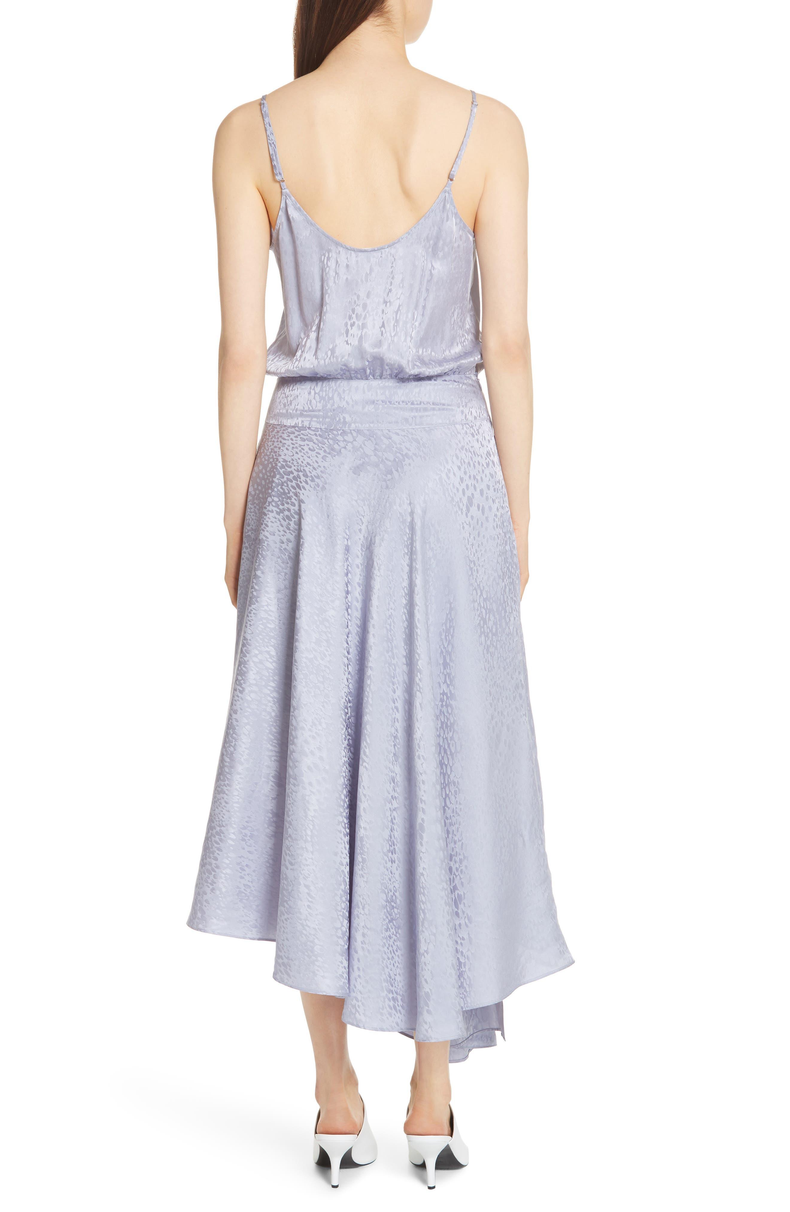 A.L.C.,                             Willa Asymmetrical Silk Jacquard Dress,                             Alternate thumbnail 2, color,                             540