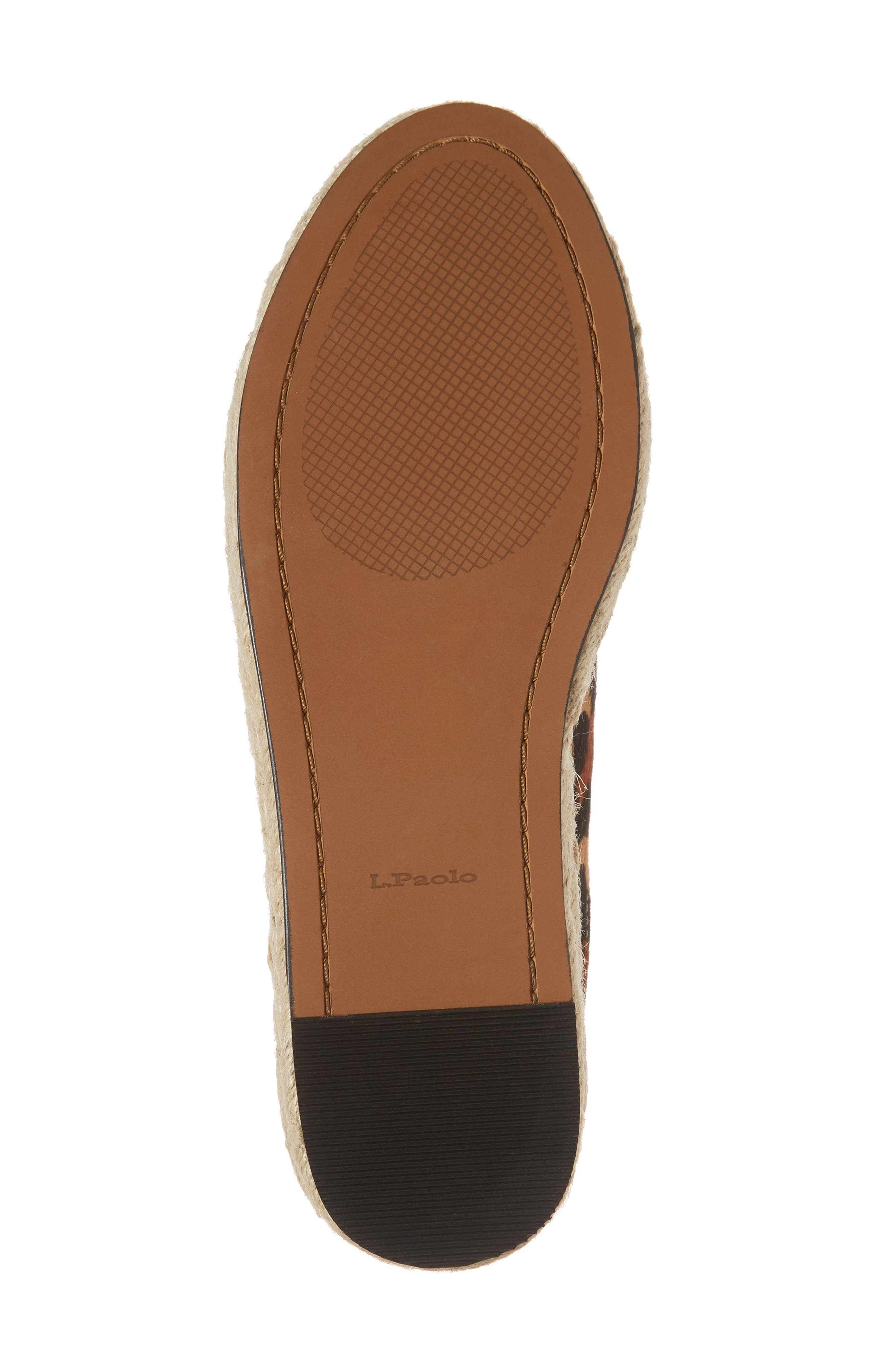 Sierra II Genuine Calf Hair Lace-Up Espadrille,                             Alternate thumbnail 6, color,                             212