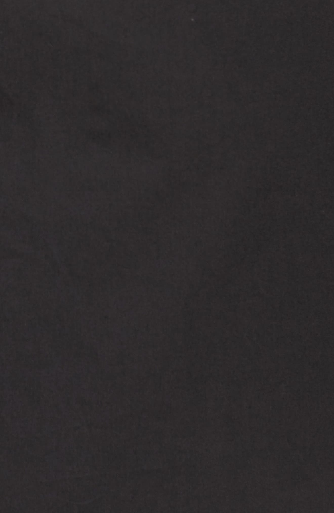 One-Shoulder Ruffle Dress,                             Alternate thumbnail 6, color,                             001