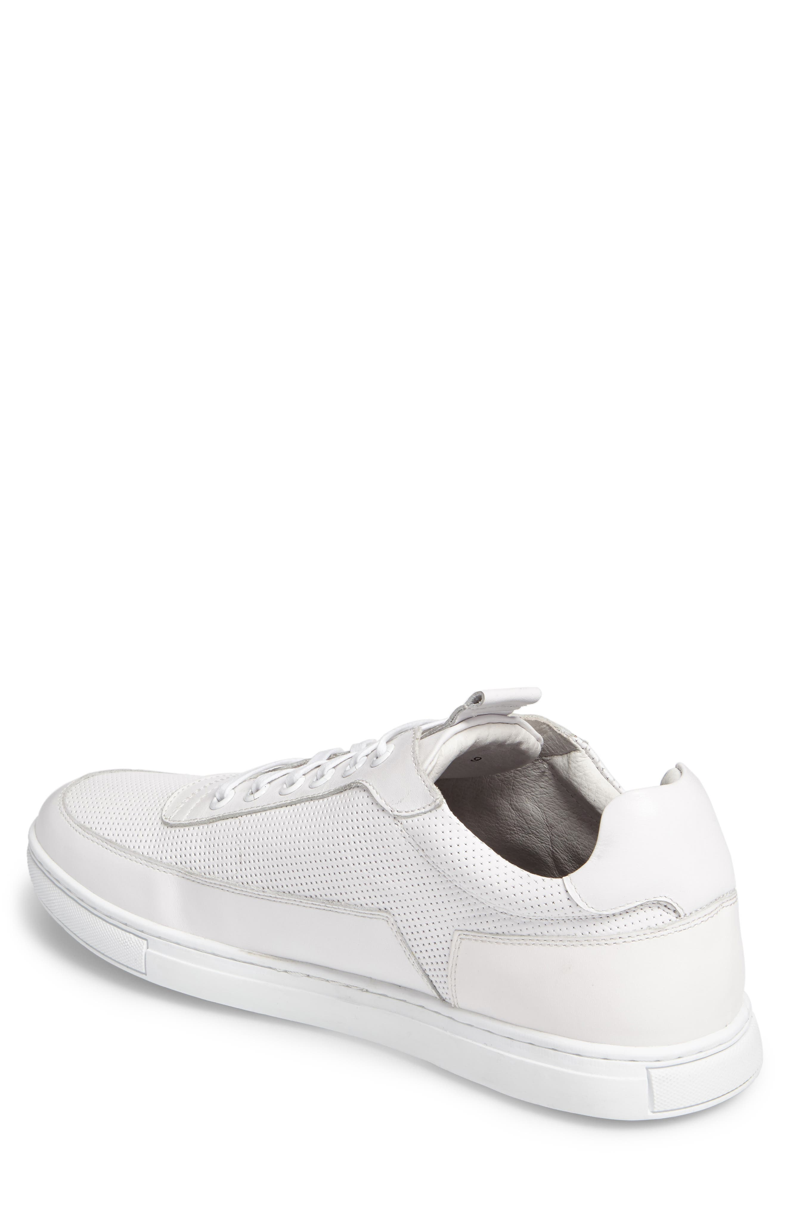 Harmony Sneaker,                             Alternate thumbnail 2, color,                             WHITE LEATHER