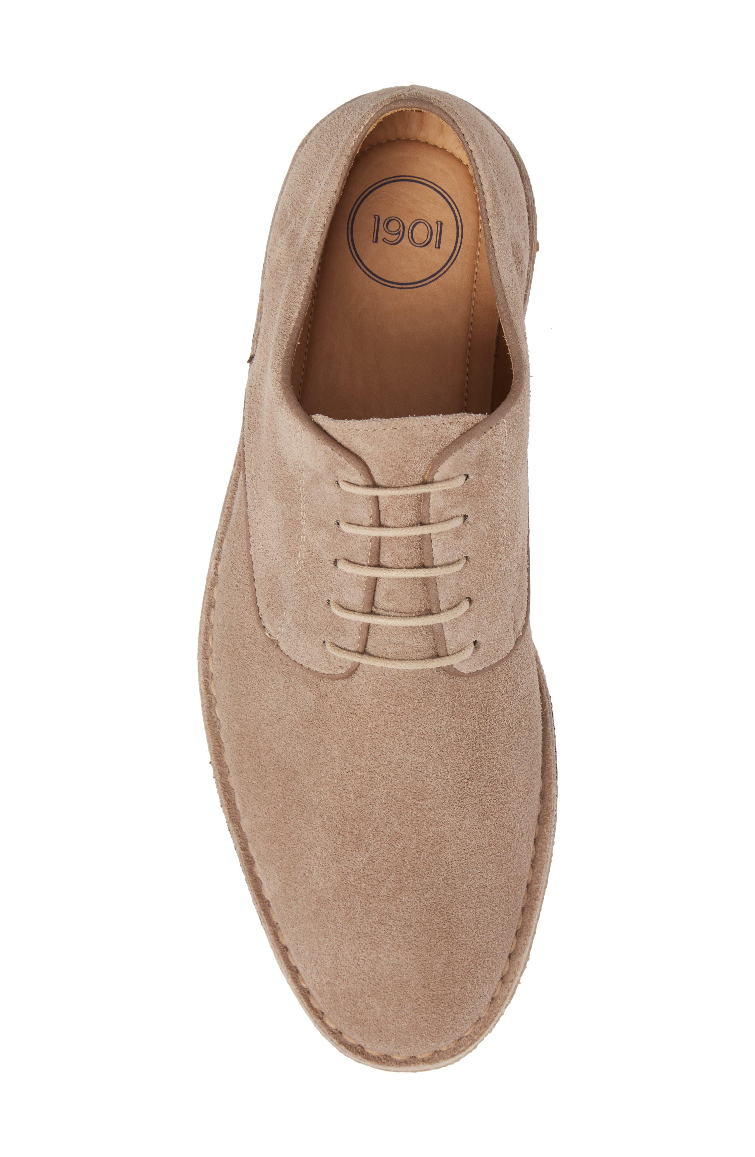Crescent Buck Shoe,                             Alternate thumbnail 5, color,                             TAN SUEDE