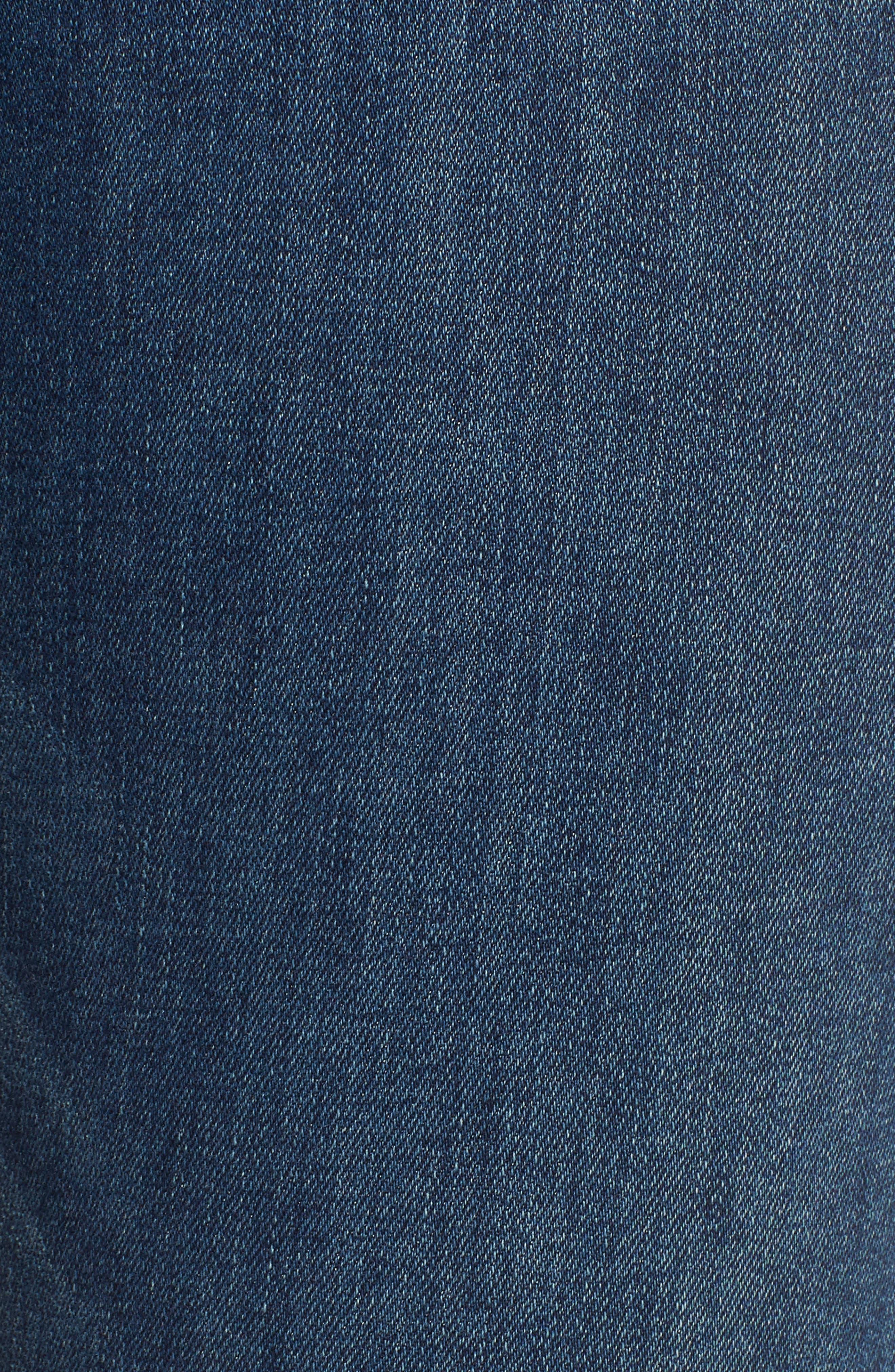 Kimmie Straight Leg Jeans,                             Alternate thumbnail 6, color,                             GLAM MEDIUM