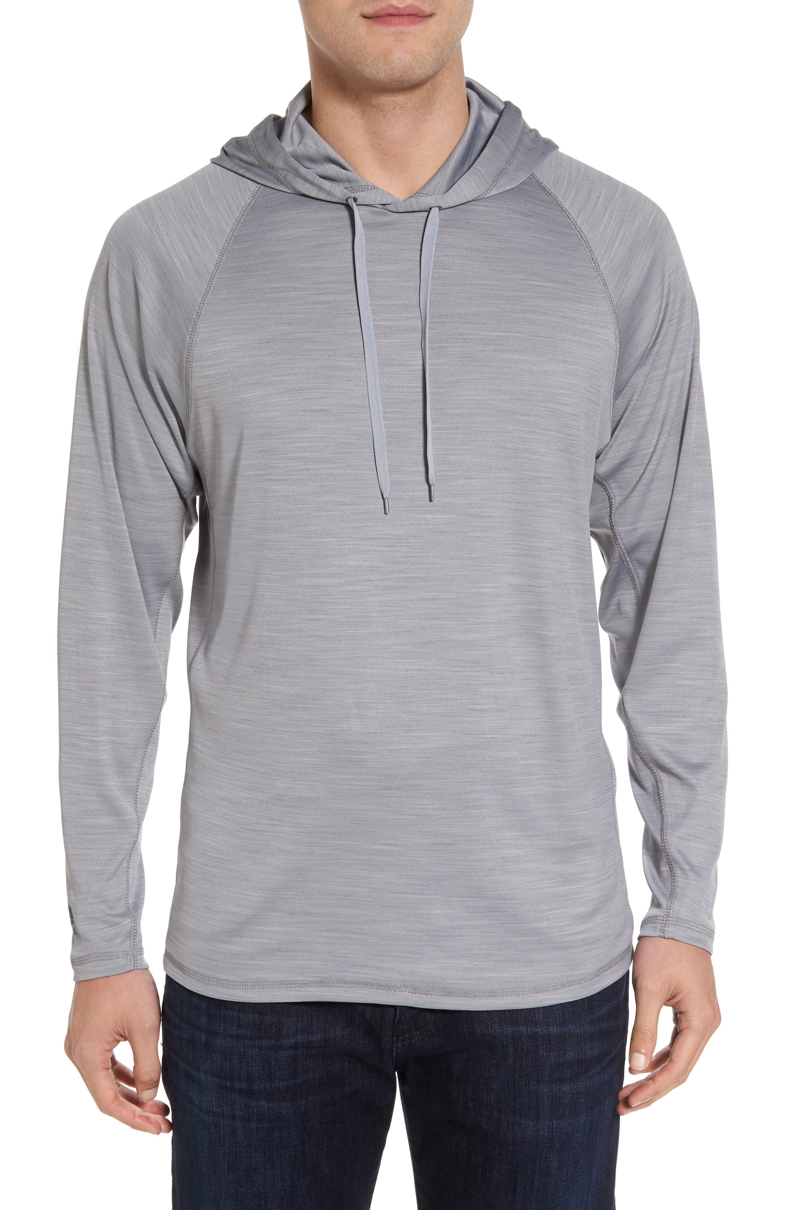 Undercover Hooded Long Sleeve Performance T-Shirt,                             Main thumbnail 1, color,                             020