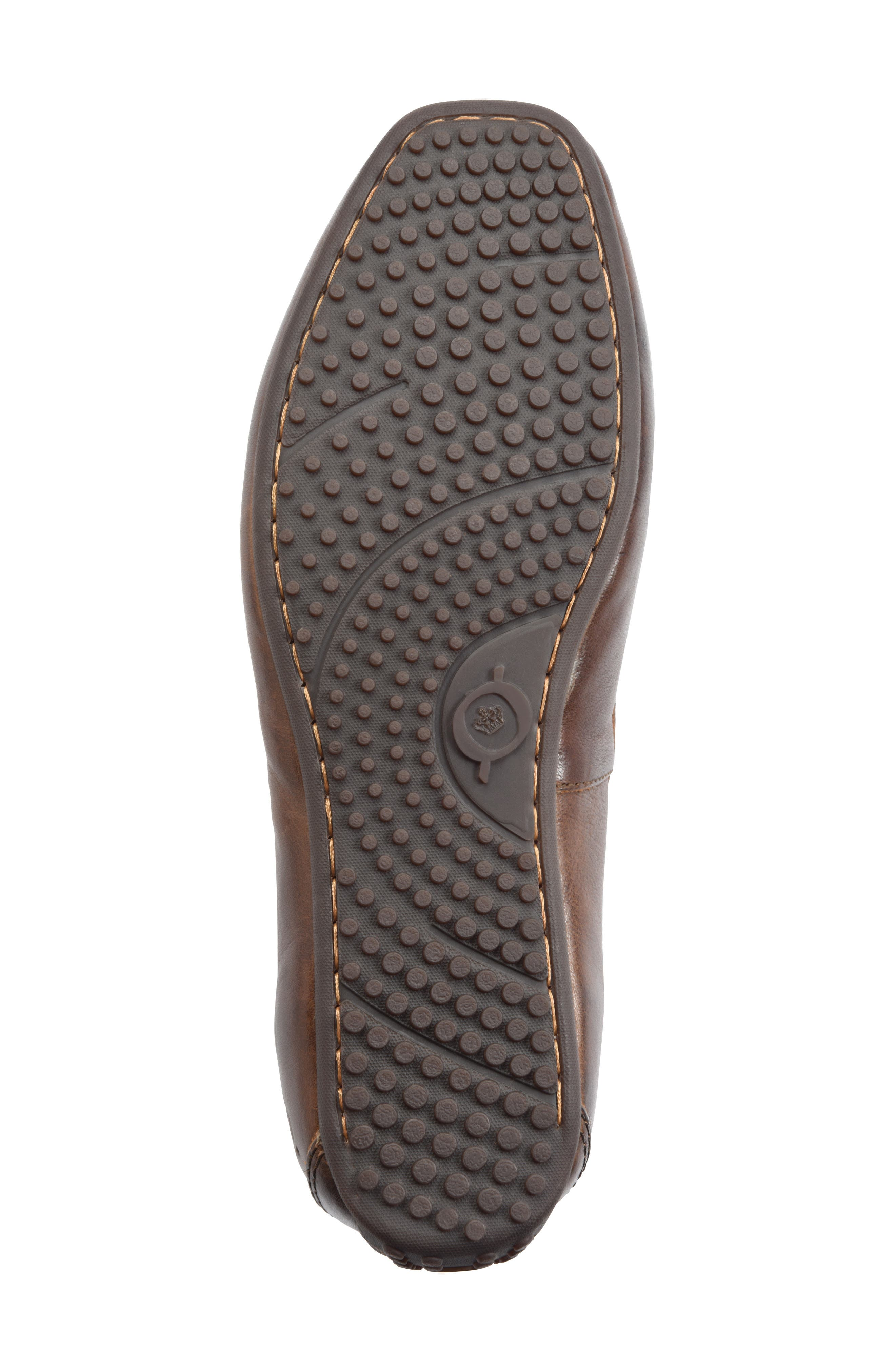 Virgo Driving Shoe,                             Alternate thumbnail 6, color,                             BROWN/BROWN LEATHER