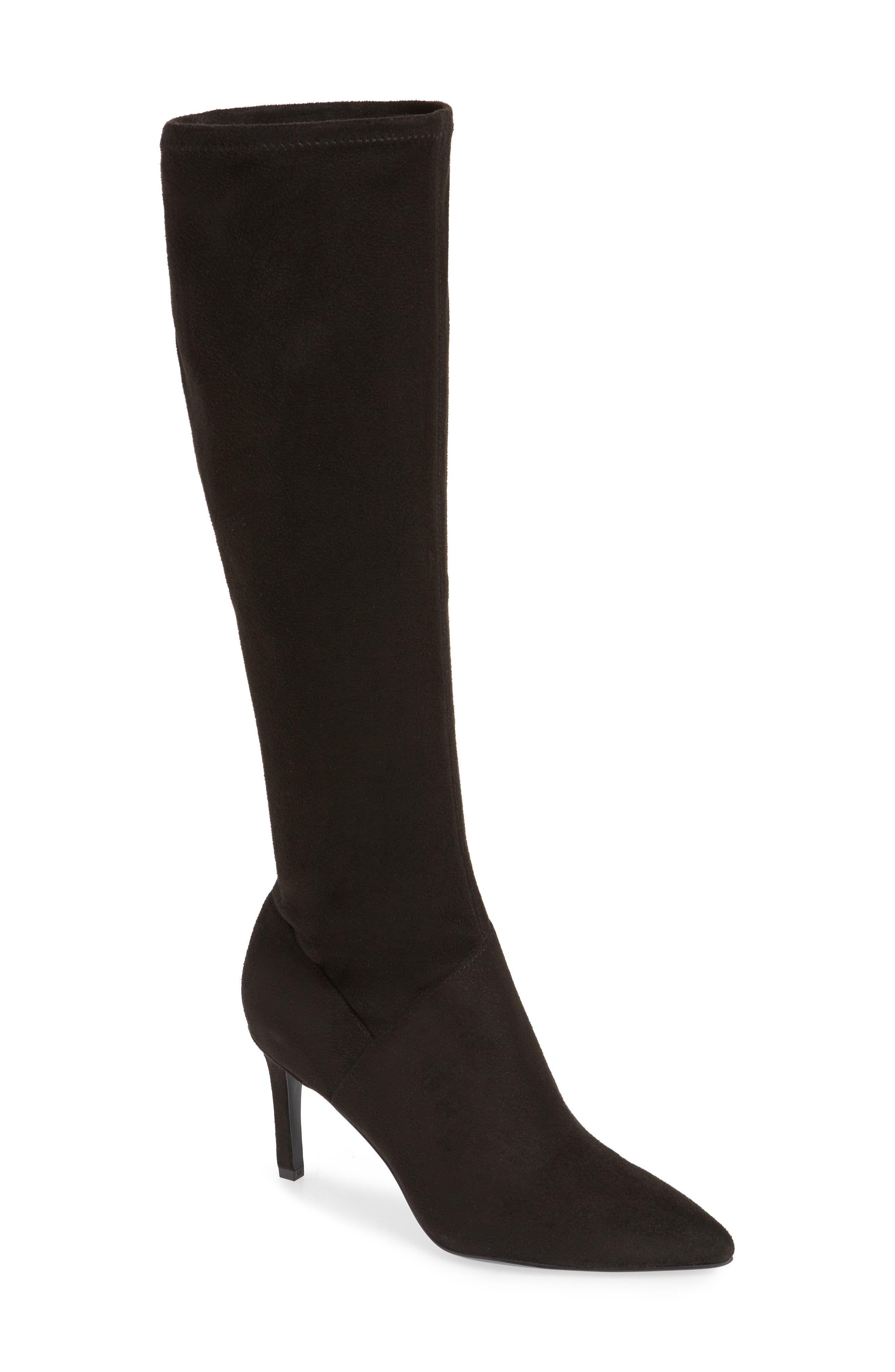 Nine West Chelsis Knee High Boot, Black