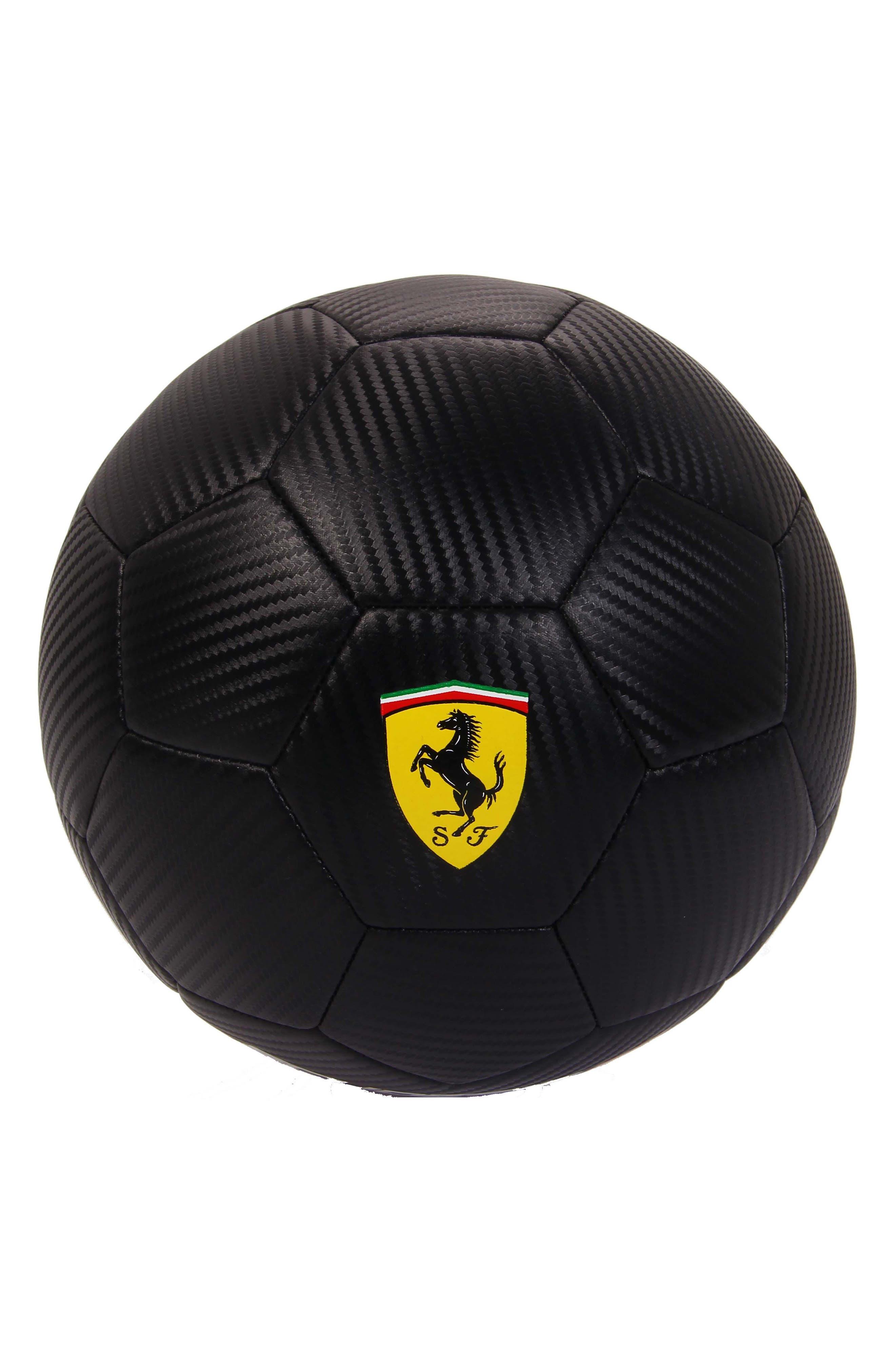 Size 5 Soccer Ball,                         Main,                         color, BLACK