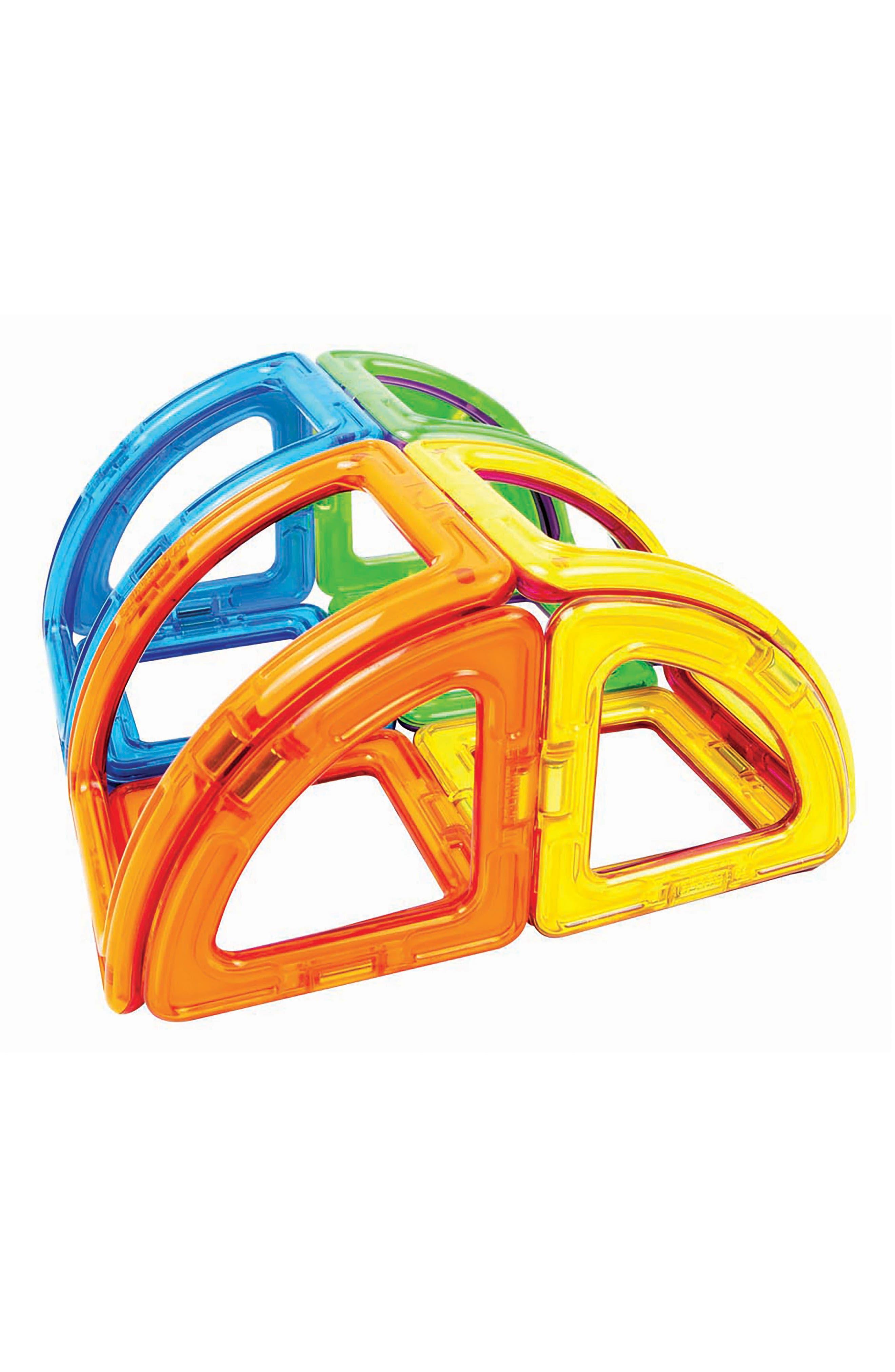 20-Piece Curve Magnetic 3D Construction Set,                             Alternate thumbnail 2, color,                             300