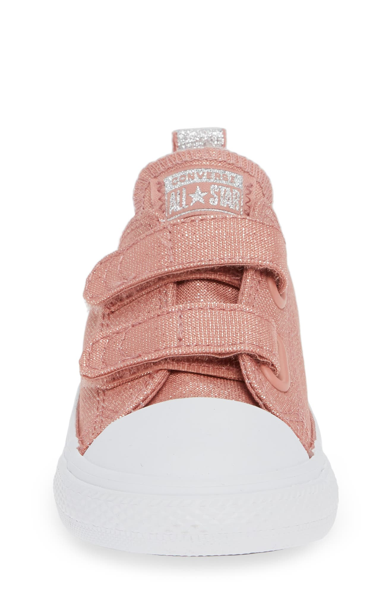 All Star<sup>®</sup> Fairy Dust Sneaker,                             Alternate thumbnail 4, color,                             RUST PINK