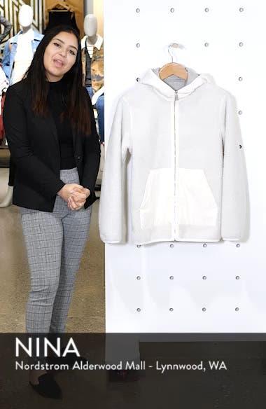 Polar Fleece Reversible Zip Hoodie, sales video thumbnail